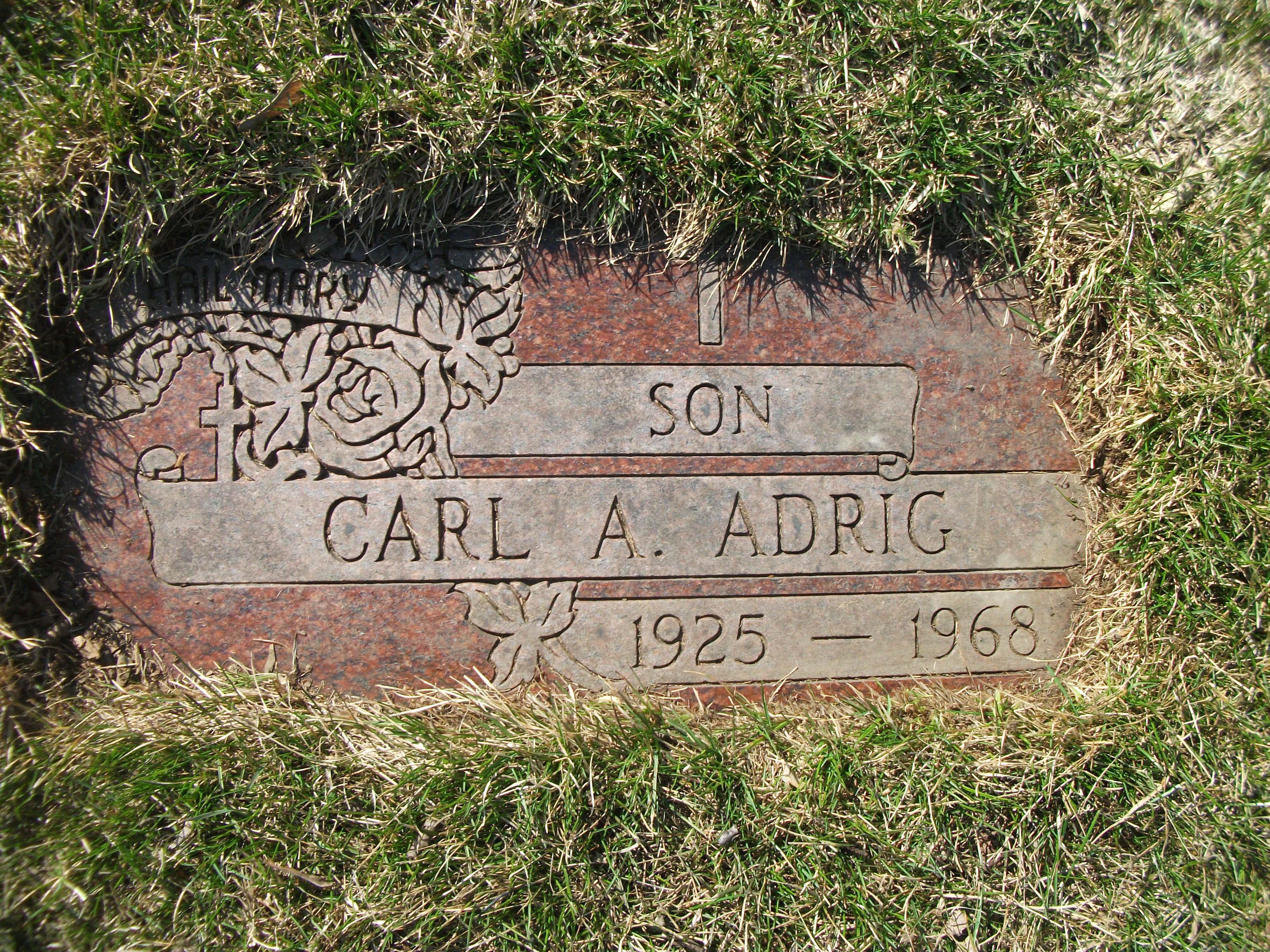 Carl Andrew Adrig