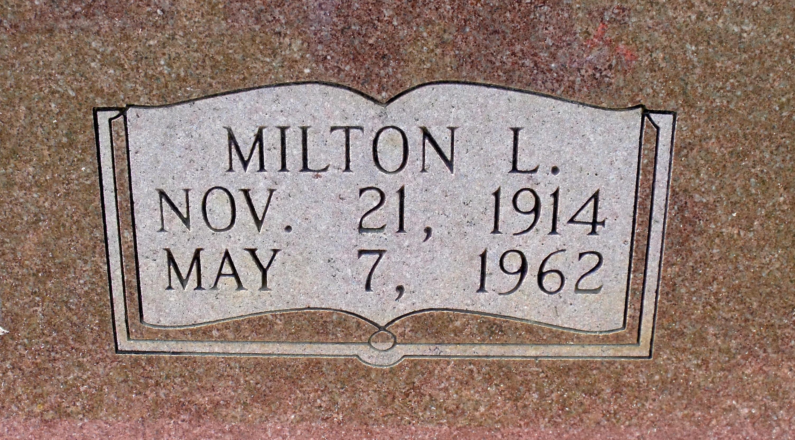 Milton L Armstrong