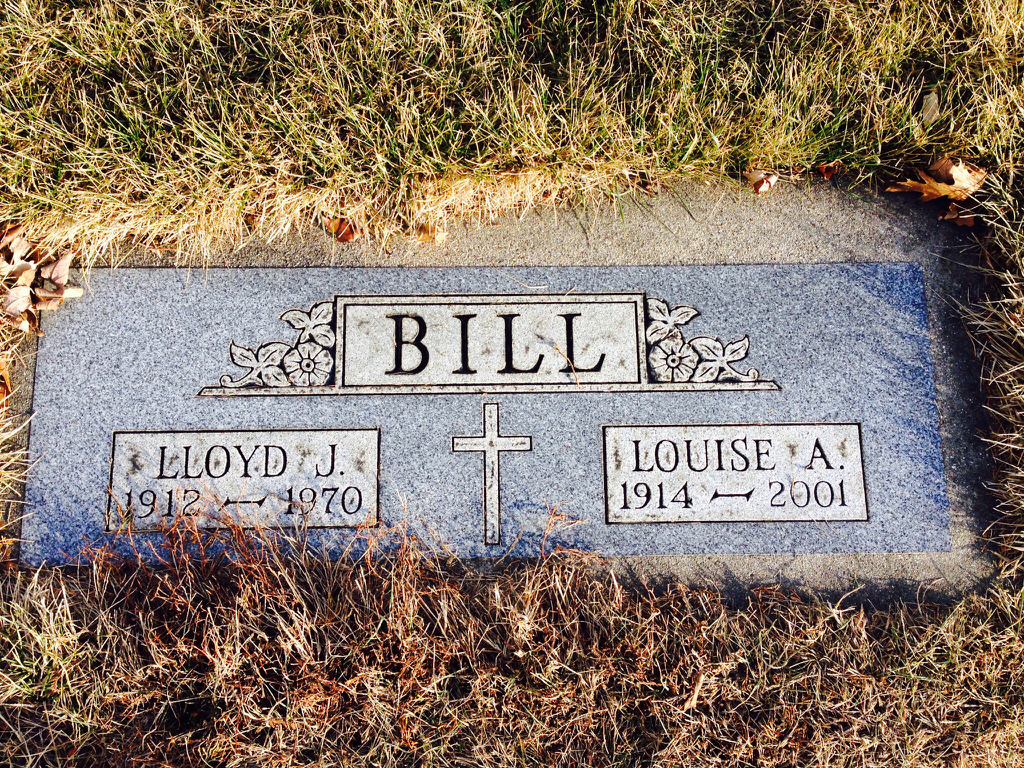 Louise A. <i>Thill</i> Bill