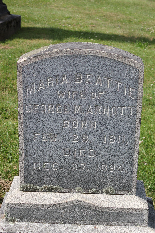 Maria <i>Beattie</i> Arnott