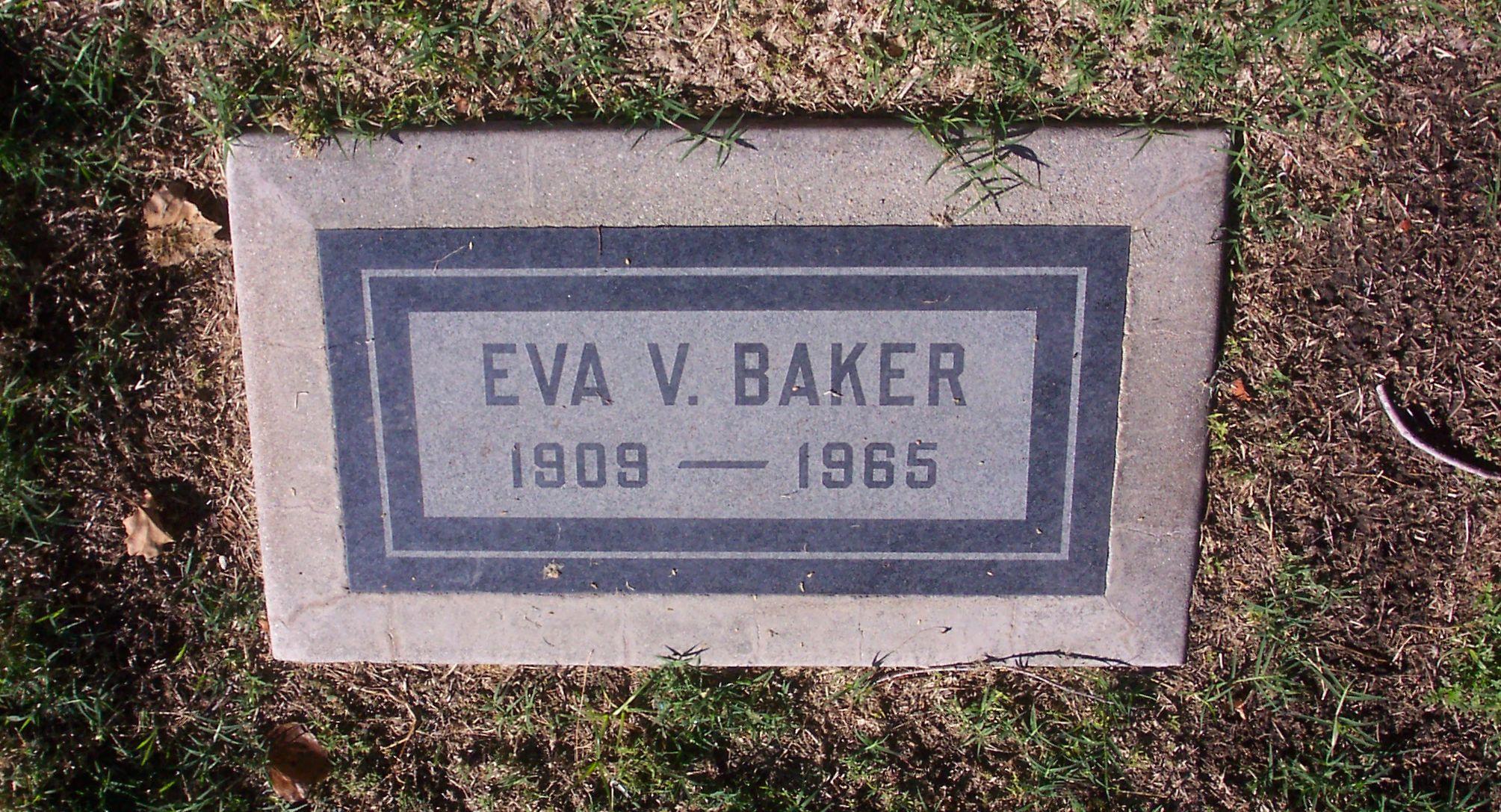 Eva Vivian <i>Bowers</i> Baker
