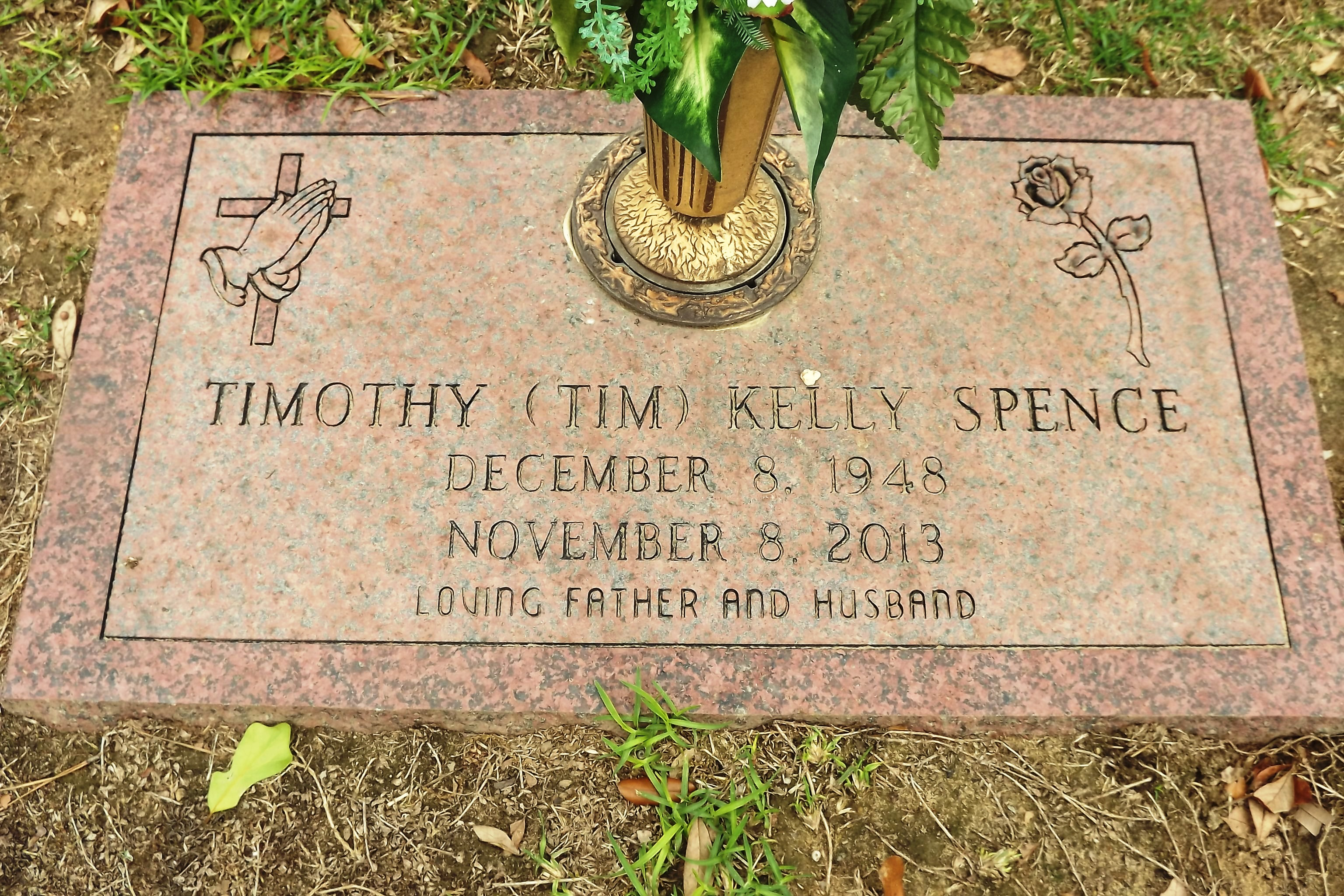 """Timothy Kelly """"Tim"""" Spence (1948-2013) - Find A Grave Memorial"""