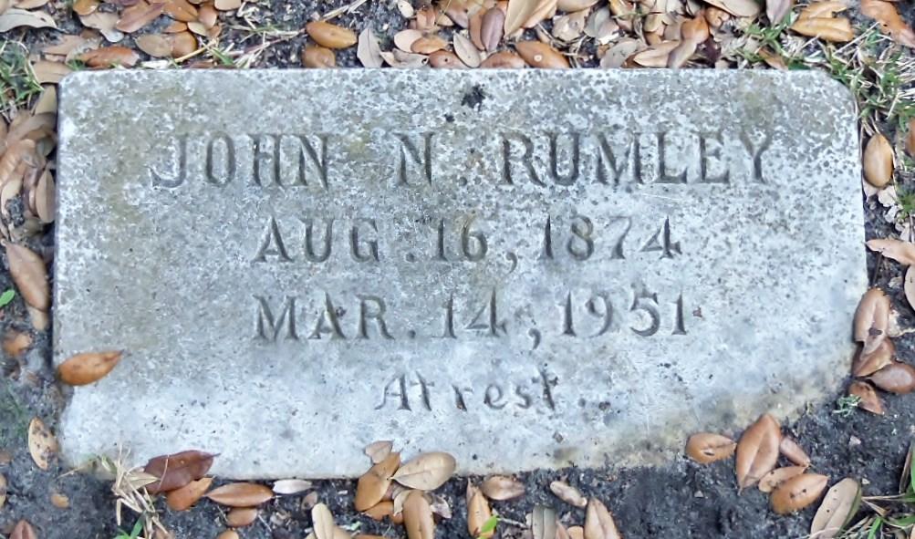 John Newman Rumley
