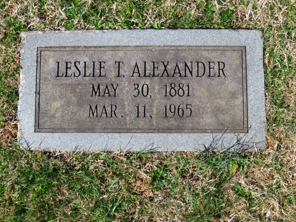 Leslie Tilghman Alexander