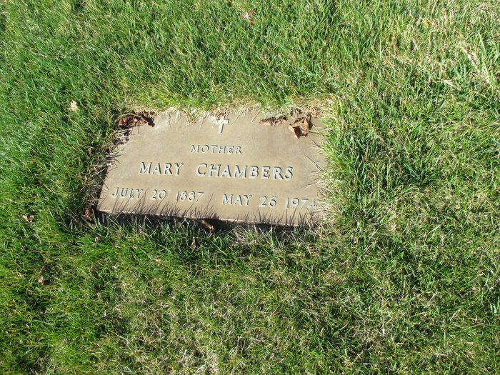 Mary <i>Debus</i> Chambers