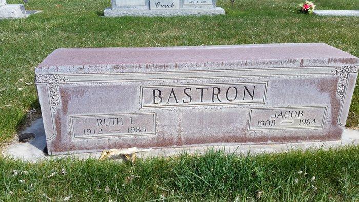 Ruth Iola <i>Whitesides</i> Bastron