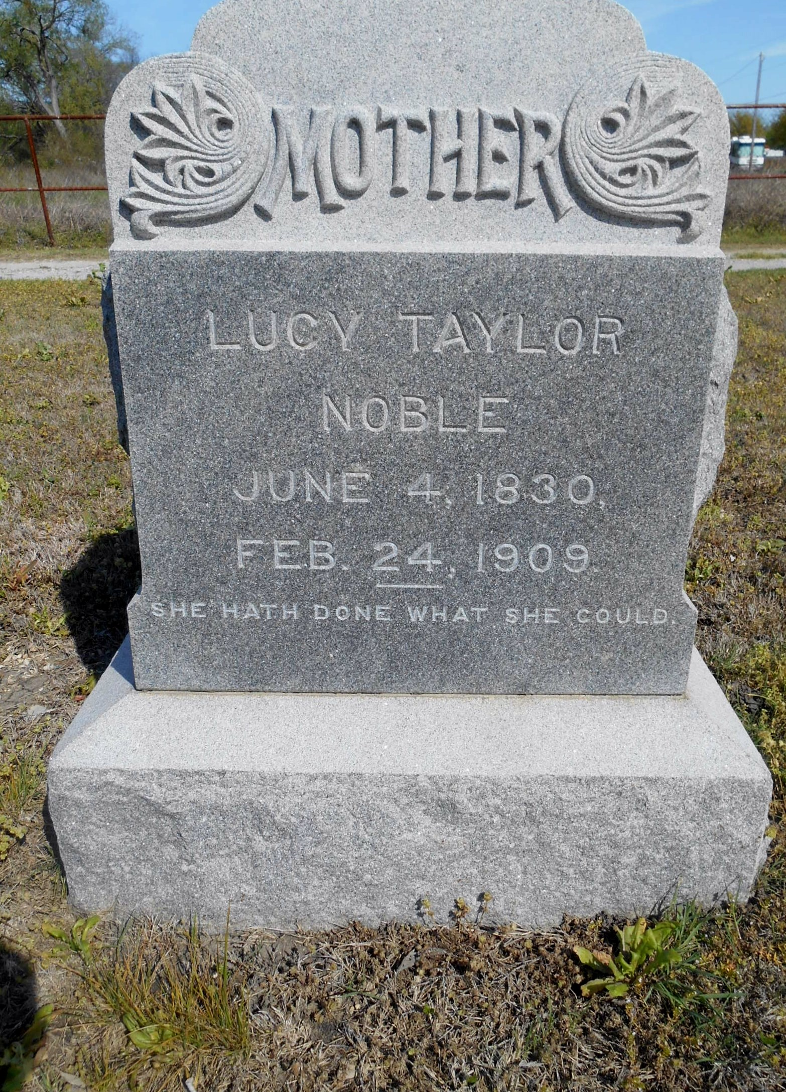 Lucy <i>Taylor</i> Noble