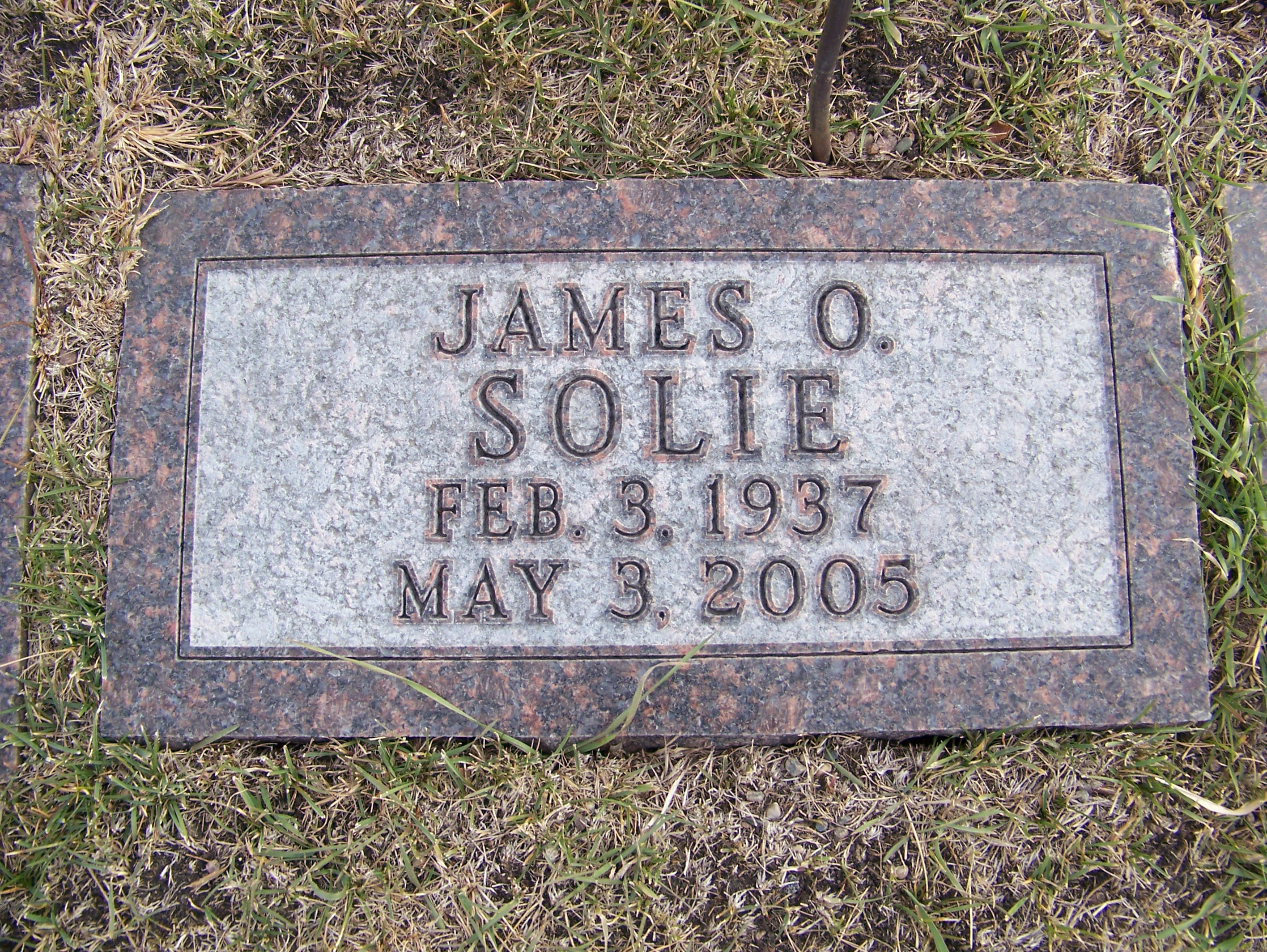 James Oliver Jim Solie