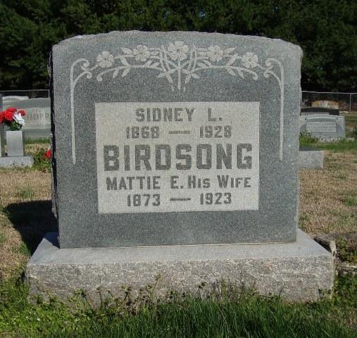Sidney Lee Birdsong
