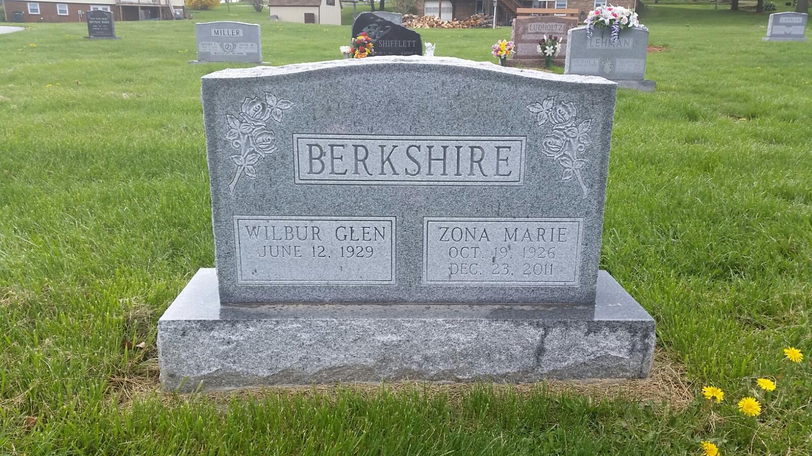 Zona Marie <i>Thomas</i> Berkshire