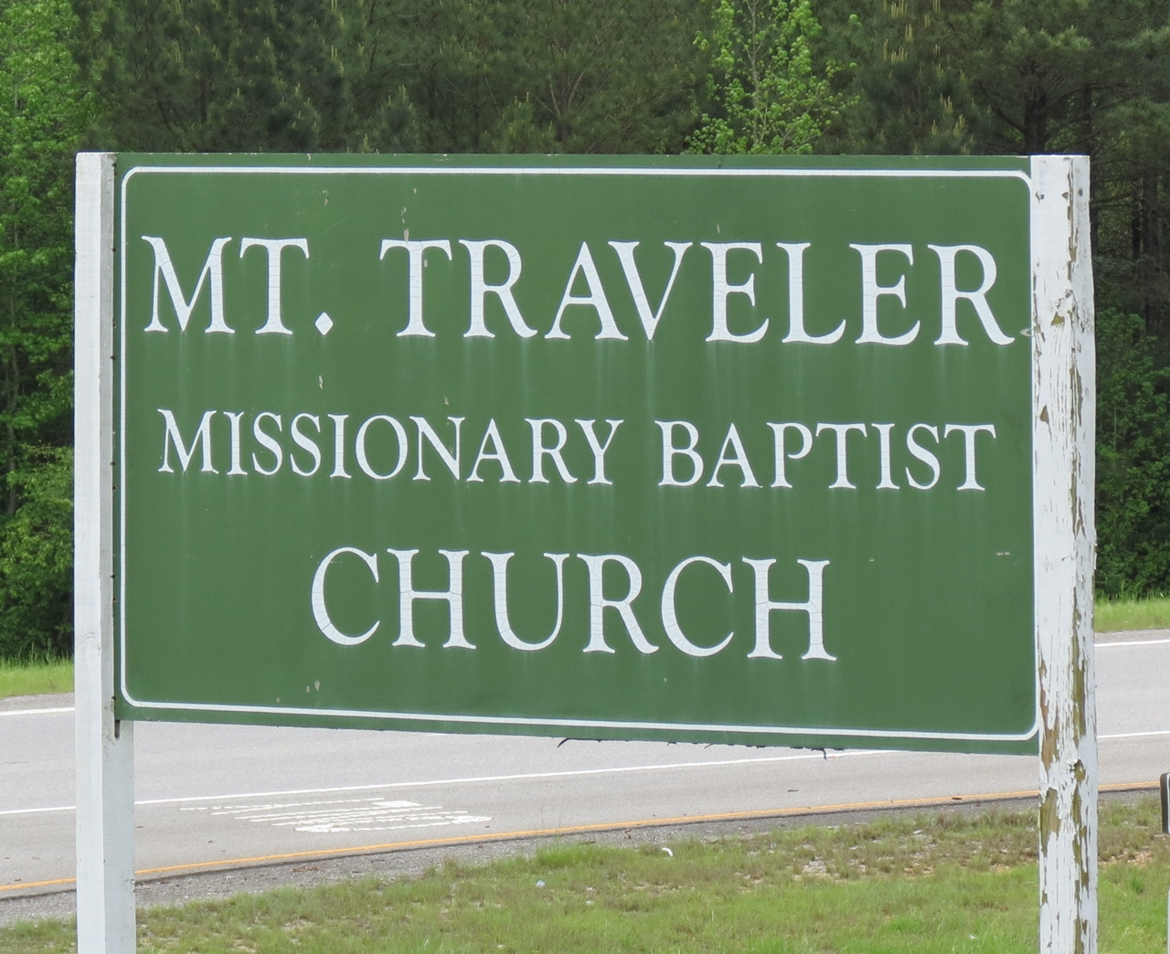 Mount Traveler Missionary Baptist Church Cemetery