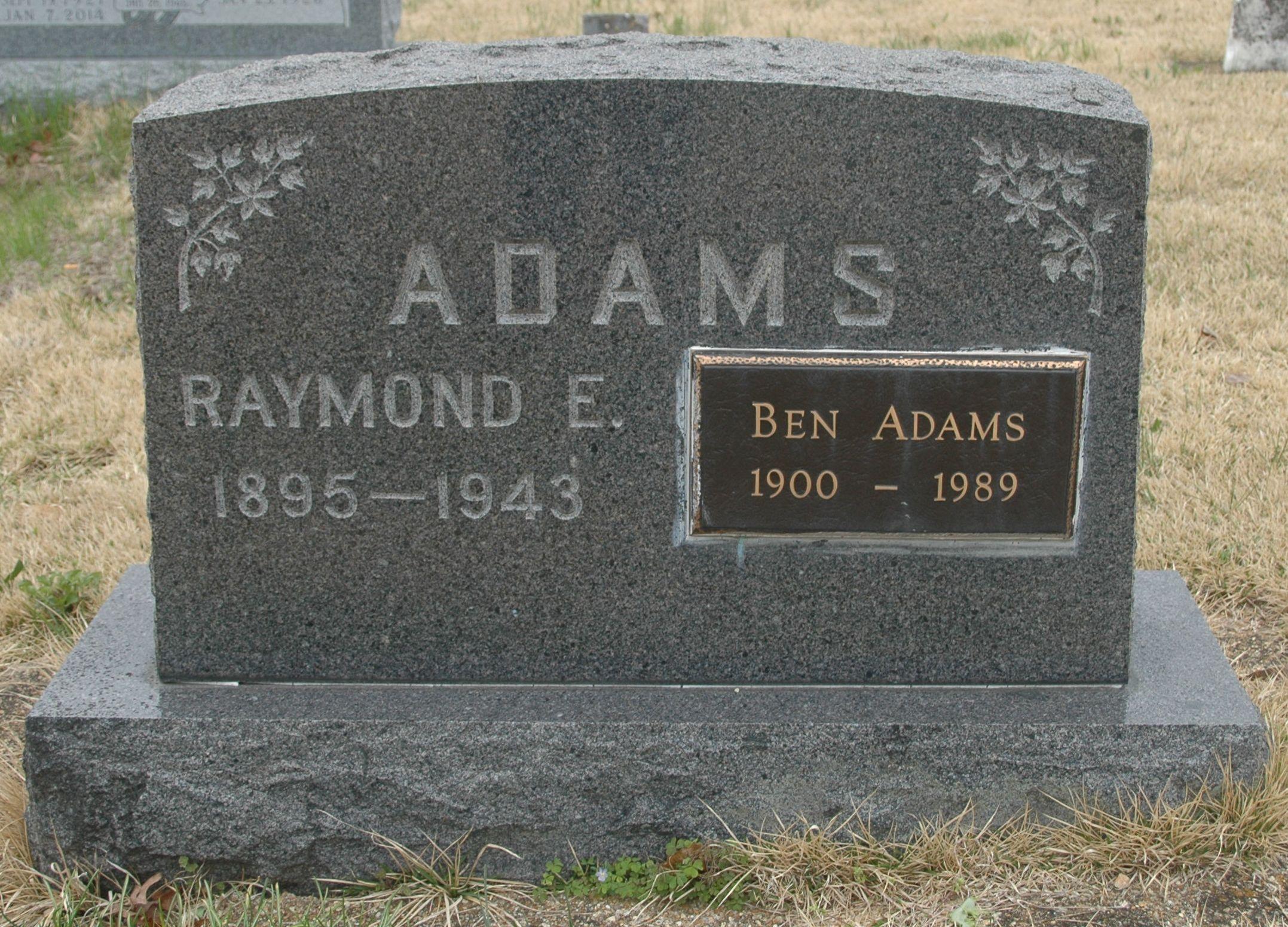 Raymond Edward Adams