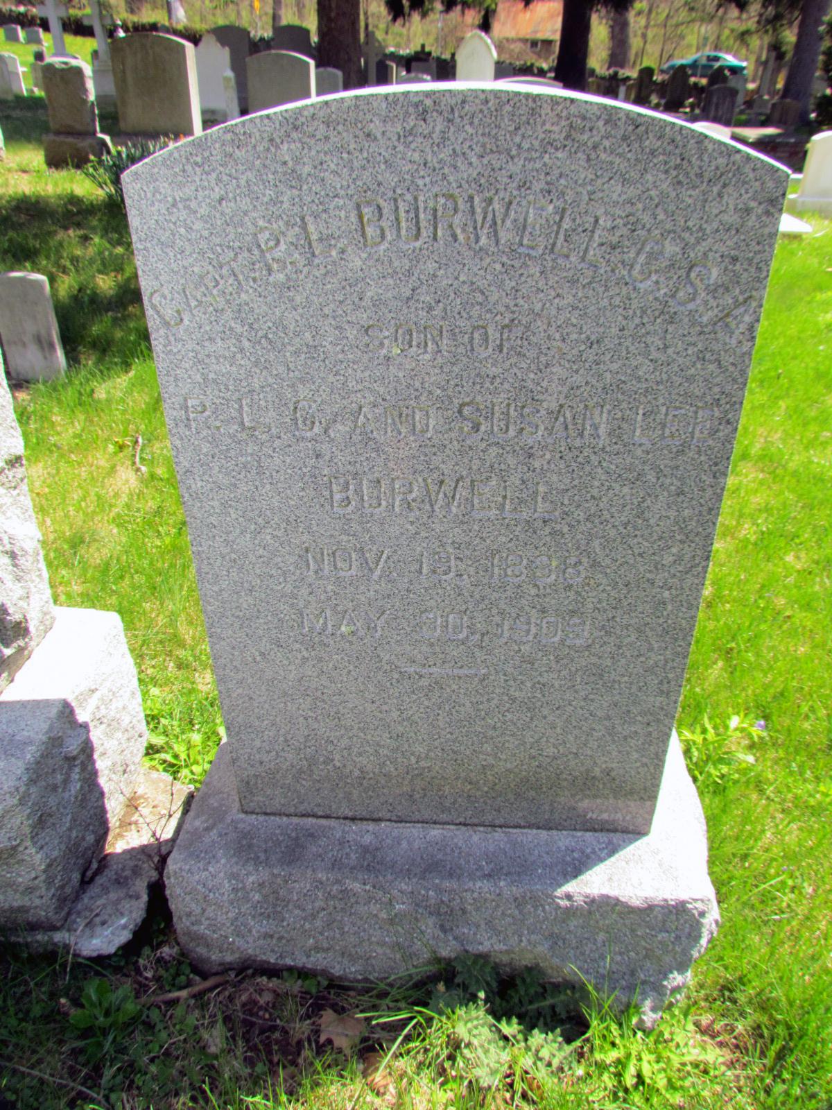 Capt Philip Lewis Carter Burwell
