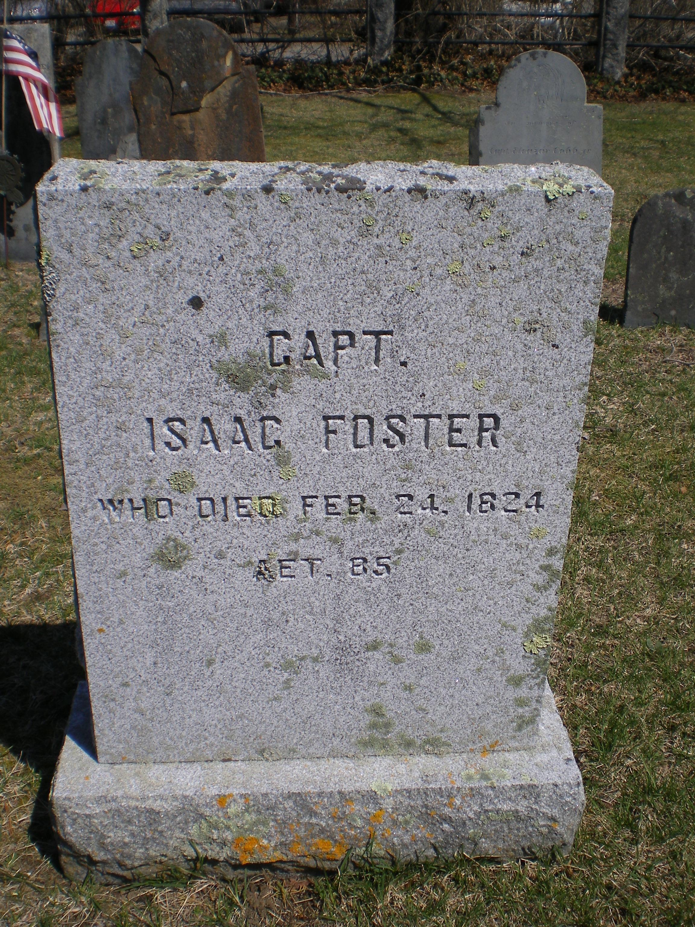 Capt Isaac Foster