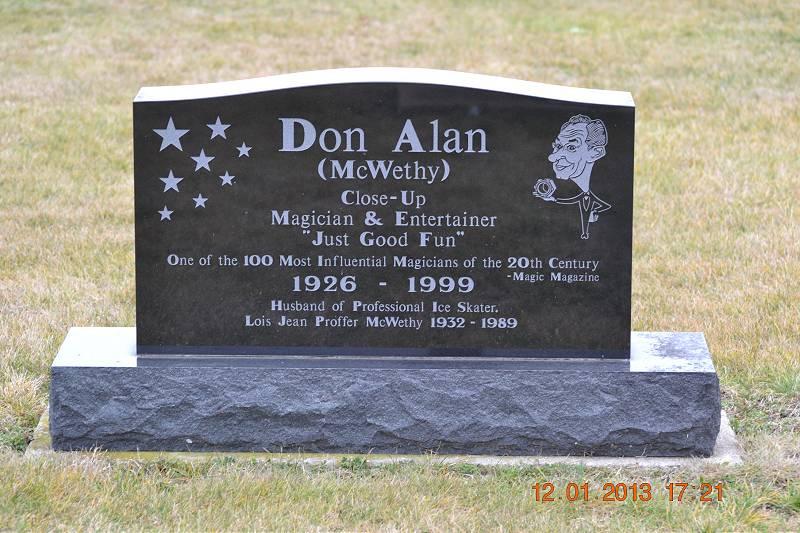 Don Alan McWethy