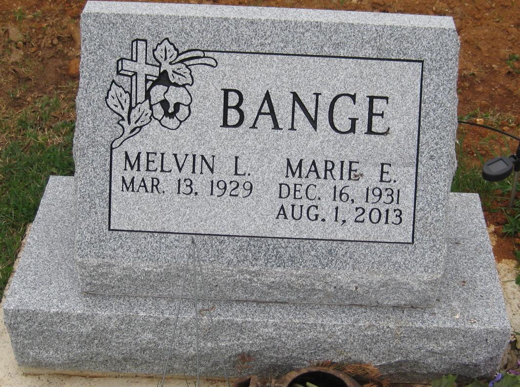 Marie E. <i>Spangler</i> Bange