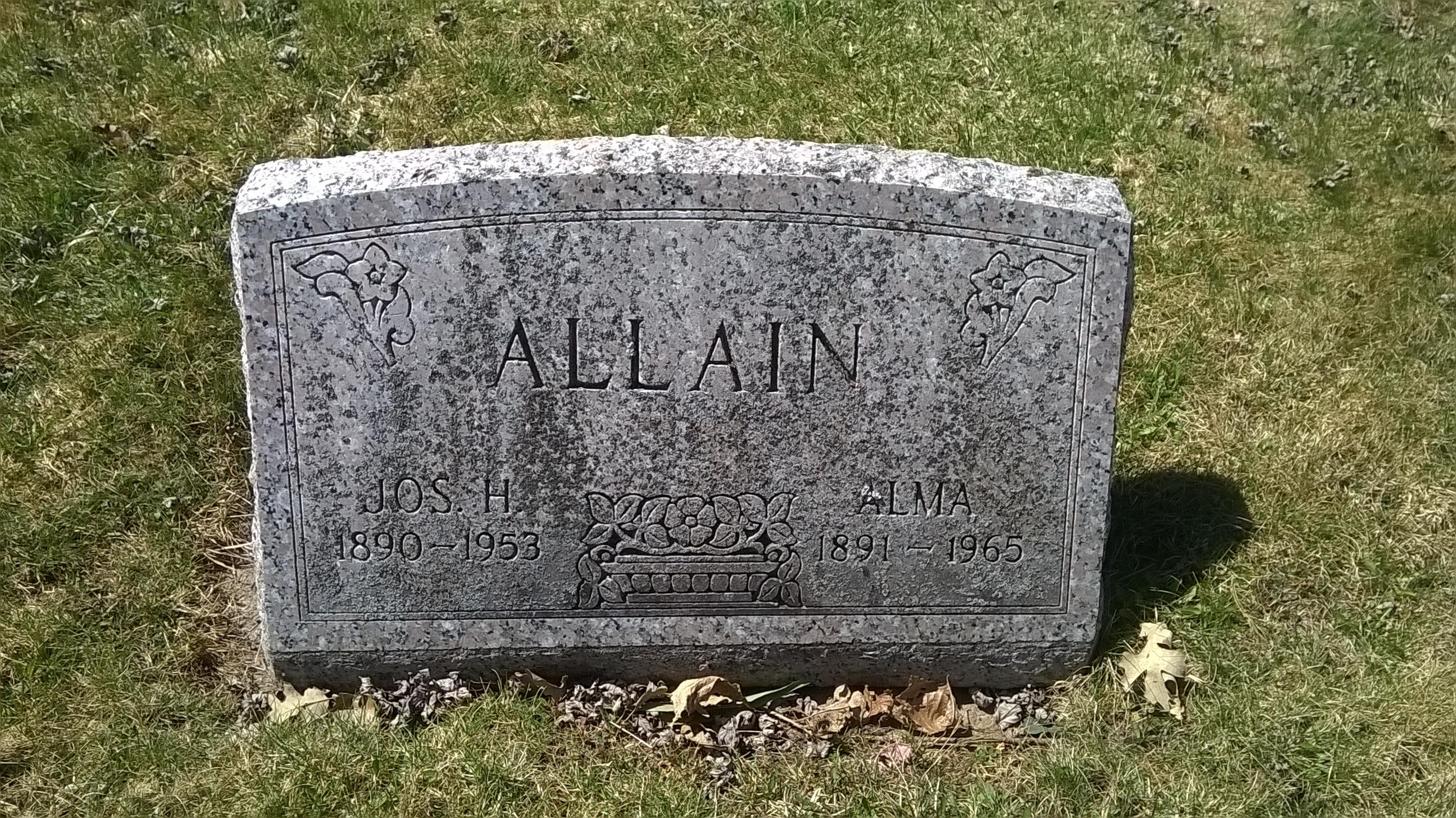 Joseph H Allain