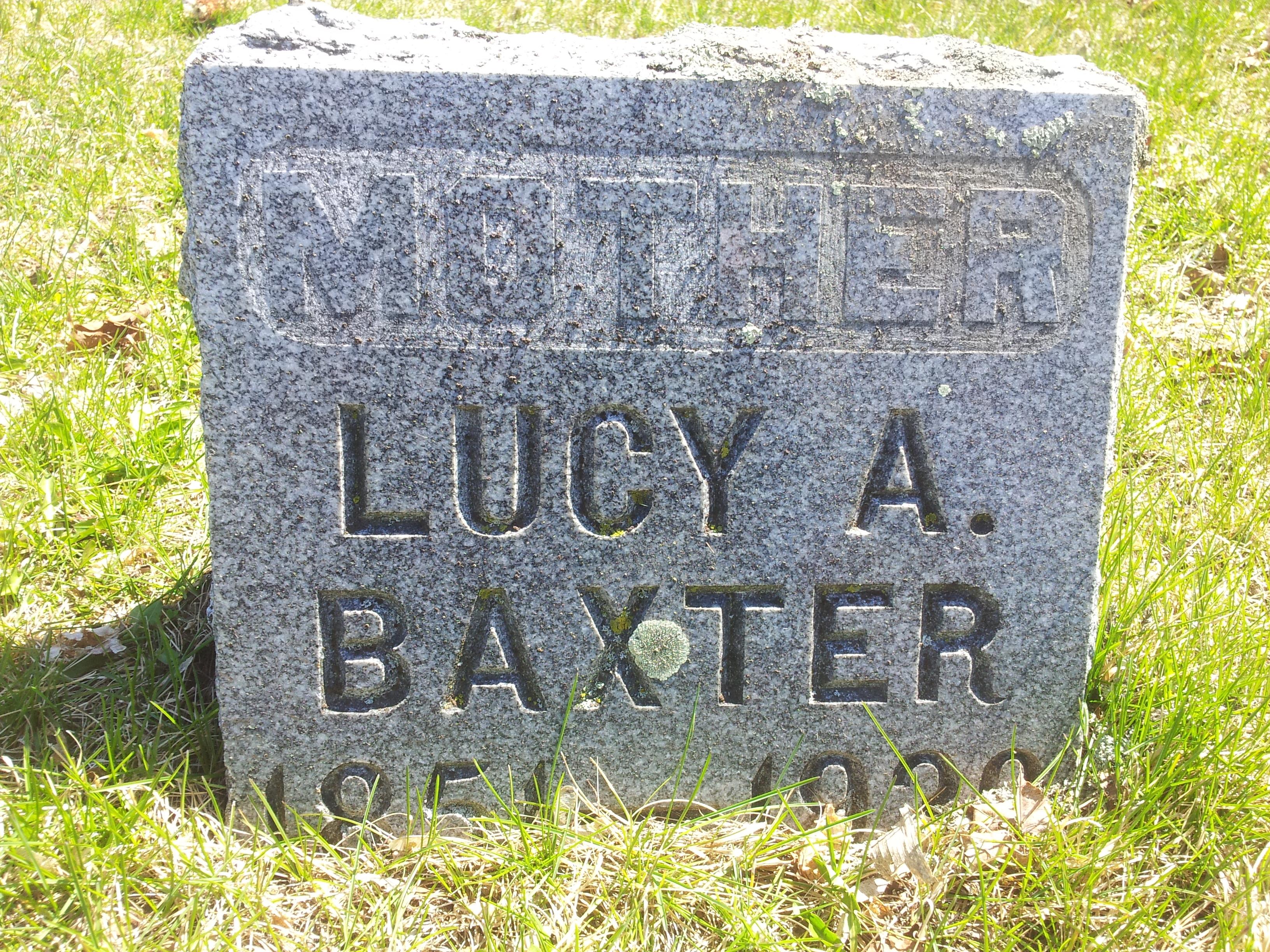 Lucy A Baxter