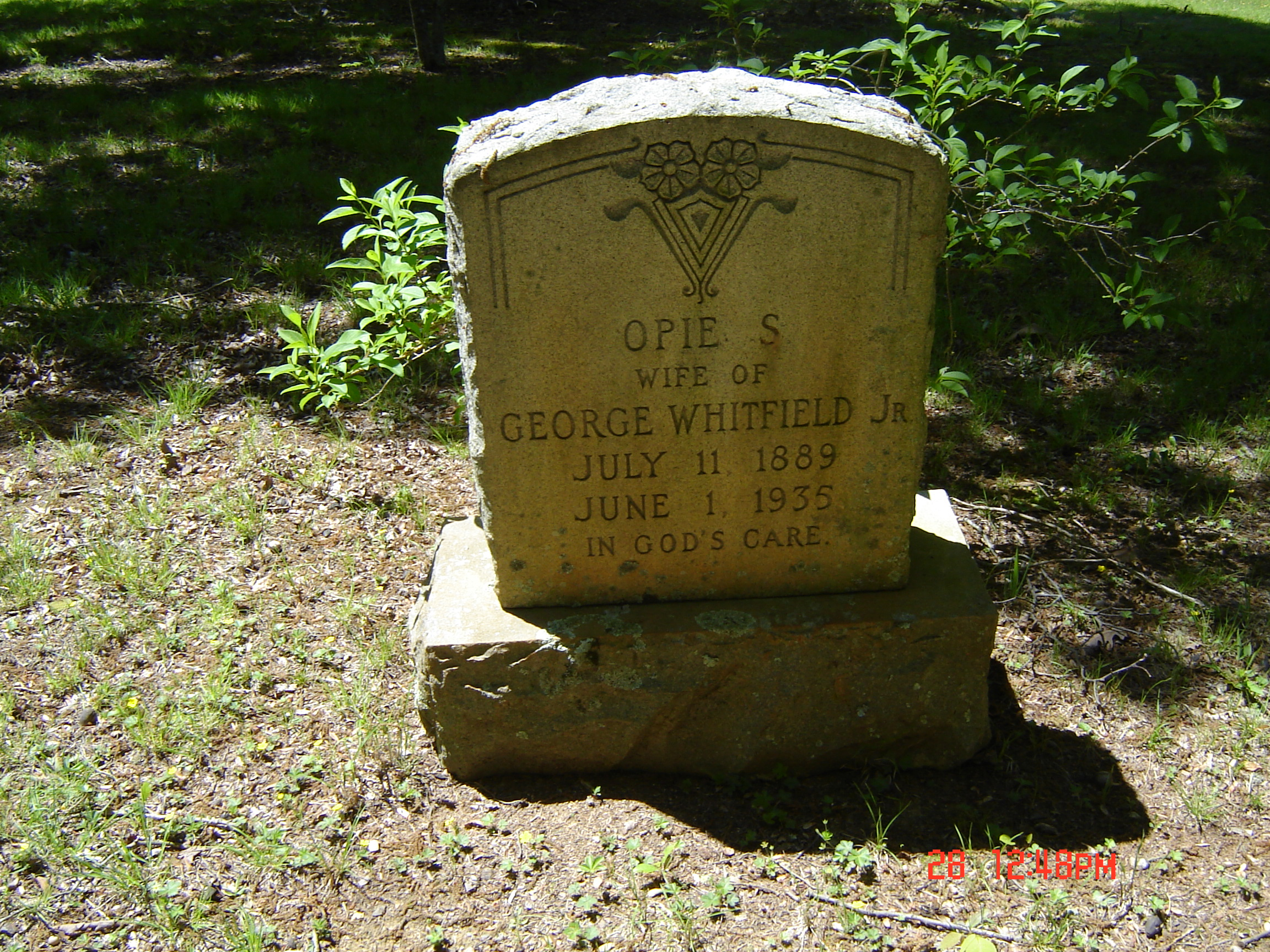 Ophia S Opie <i>Huff</i> Whitfield
