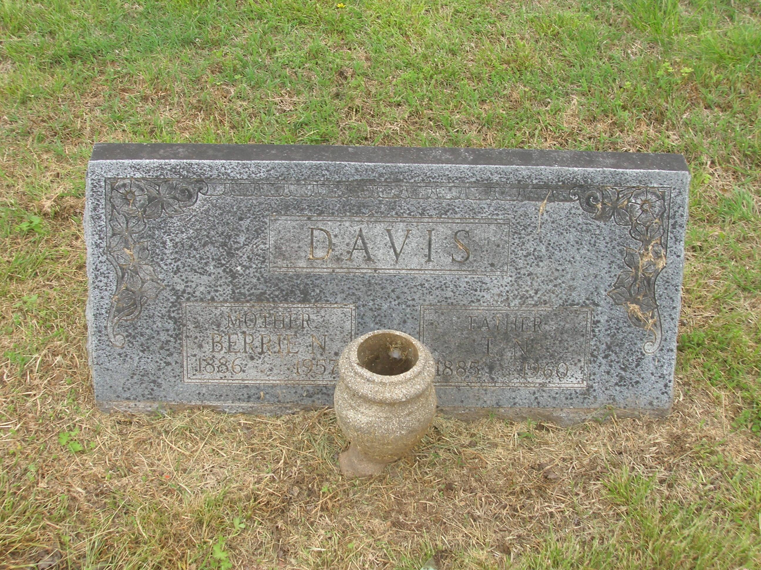 Berrie N Davis