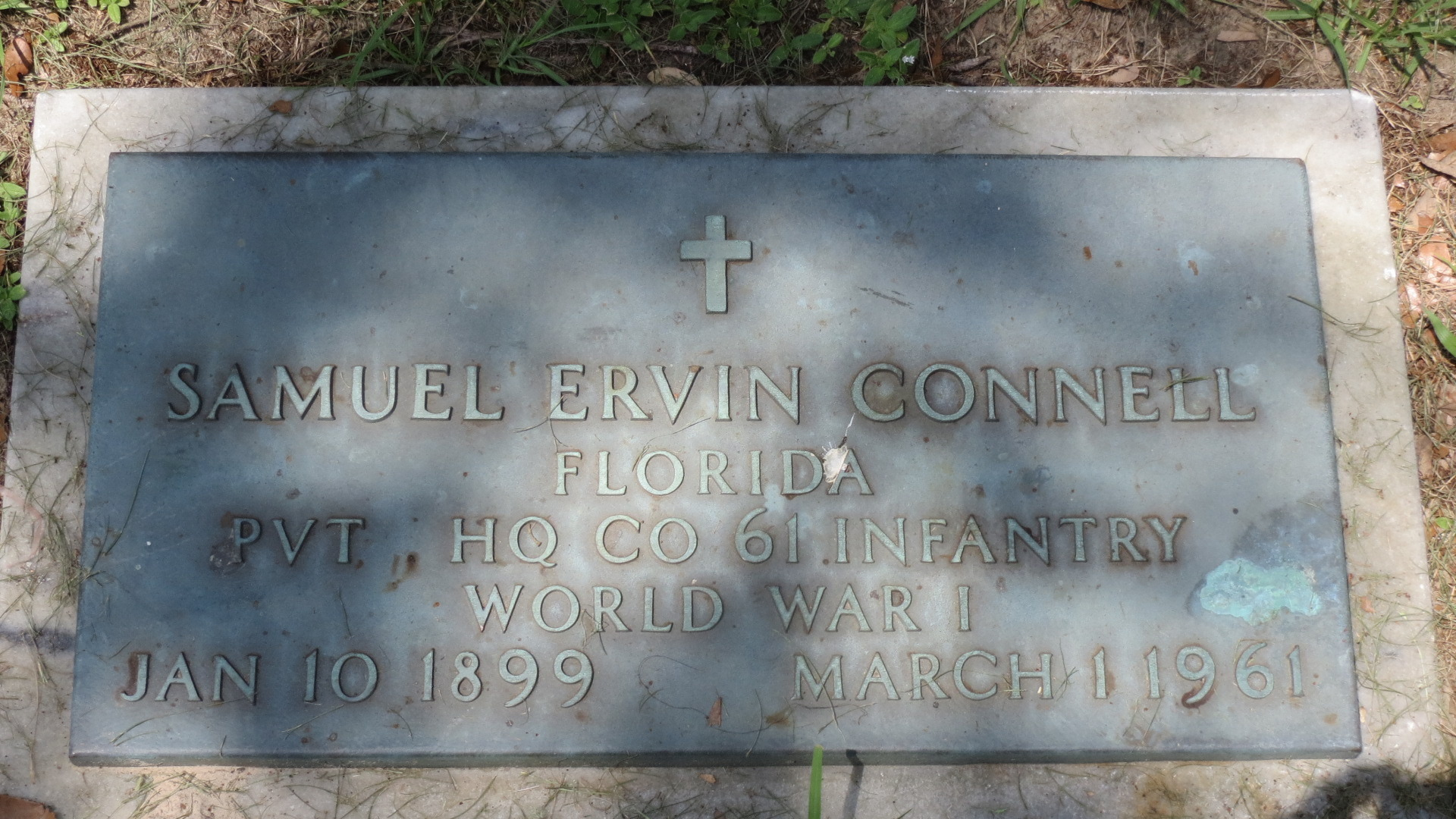 Samuel Ervin Connell (1899-1961) - Find A Grave Memorial