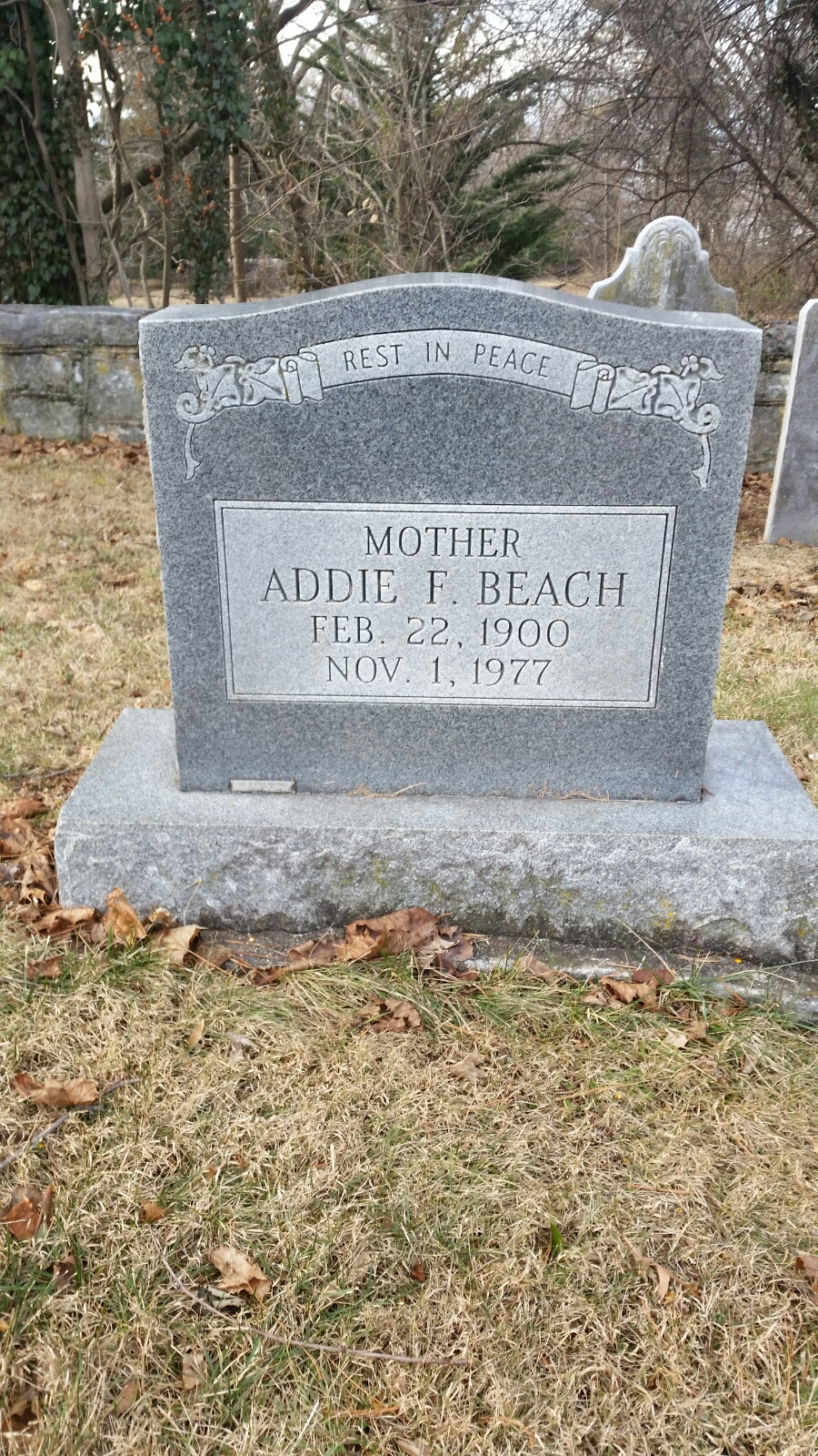 Addie Frances <i>Shifflett</i> Beach