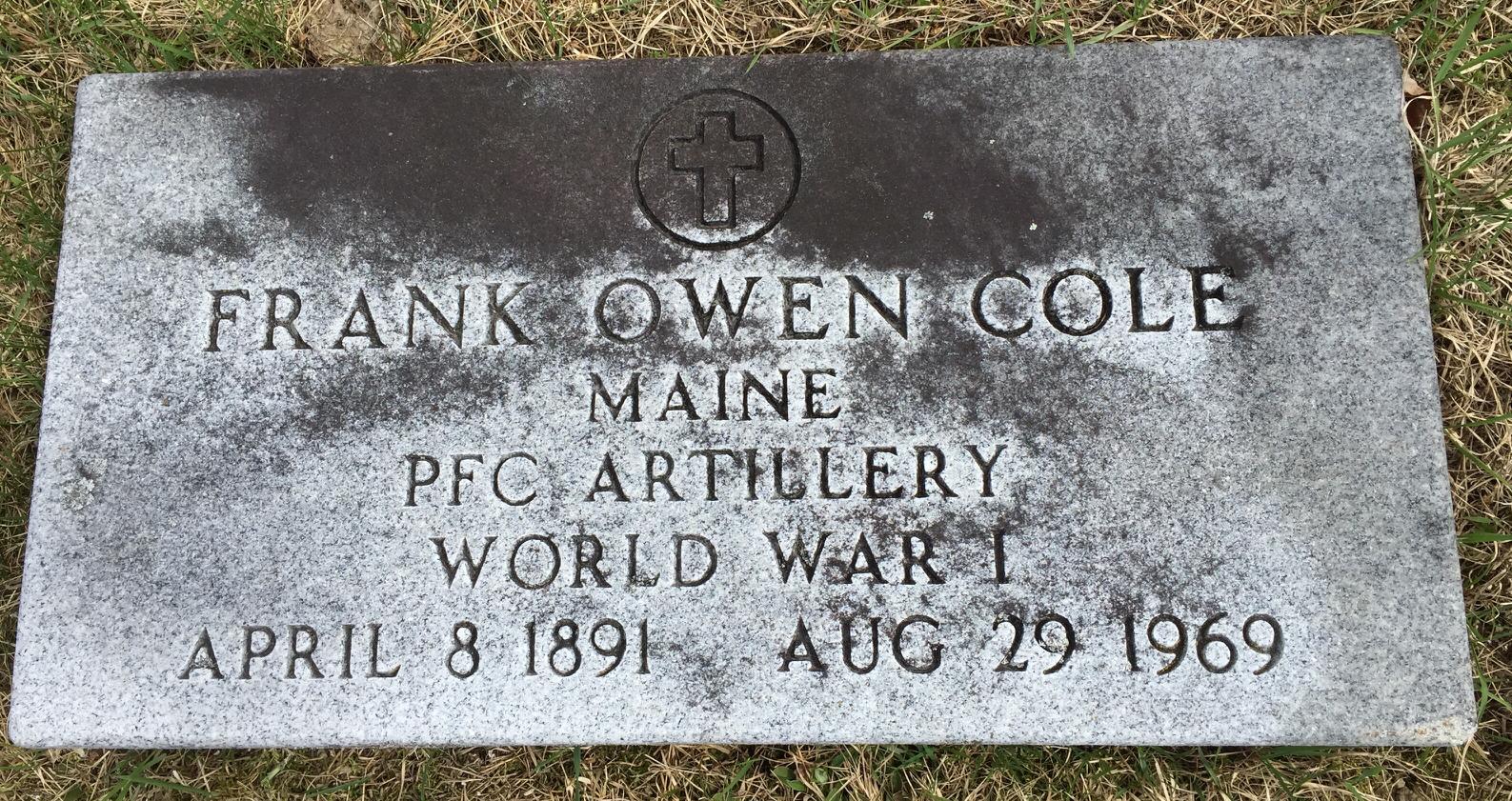Frank Owen Cole