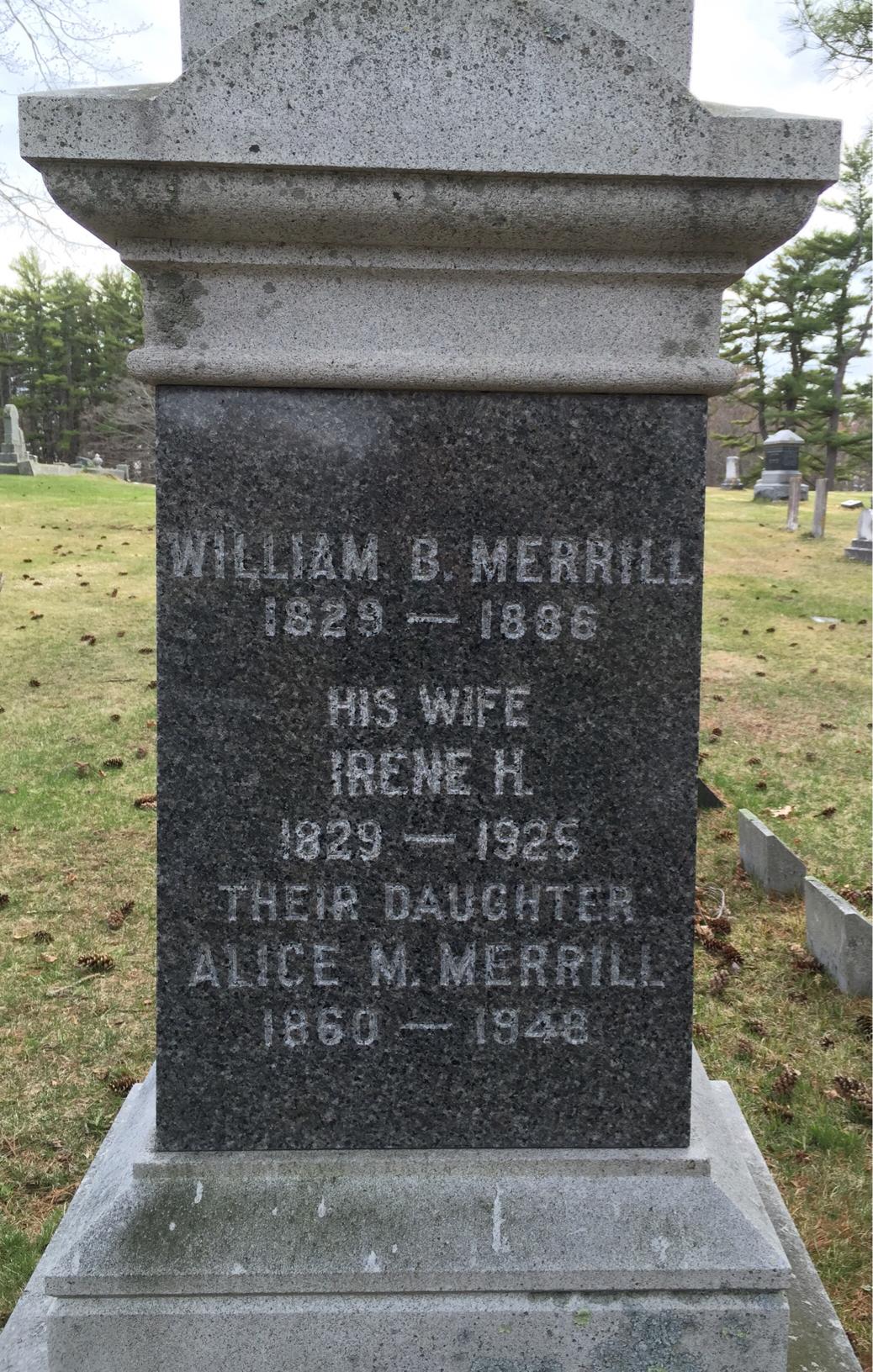 Alice M. Merrill