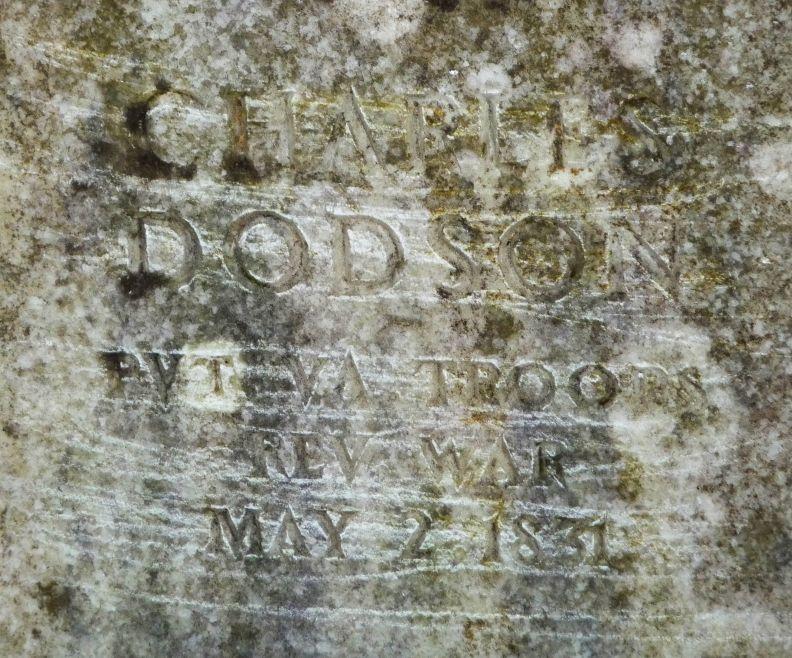 Rev Charles Dodson
