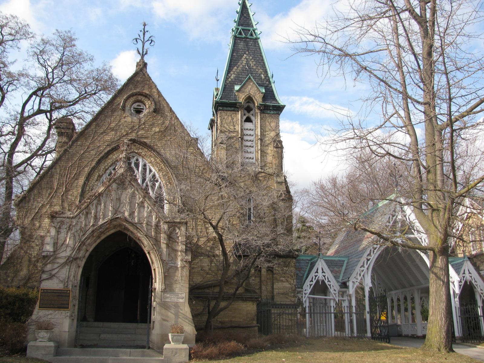 Toronto Necropolis Cemetery And Crematorium In Ontario