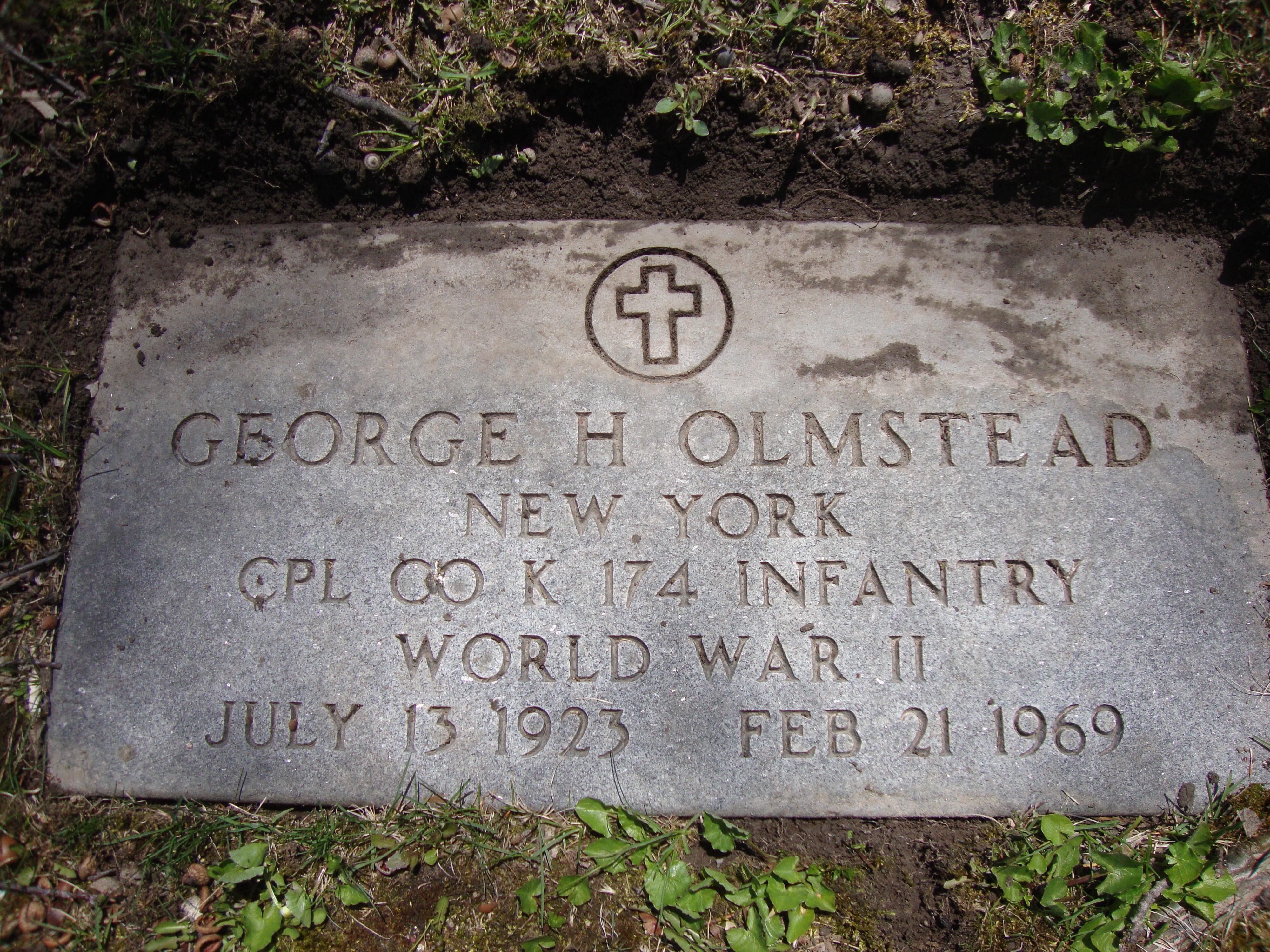 George Holdridge Olmstead