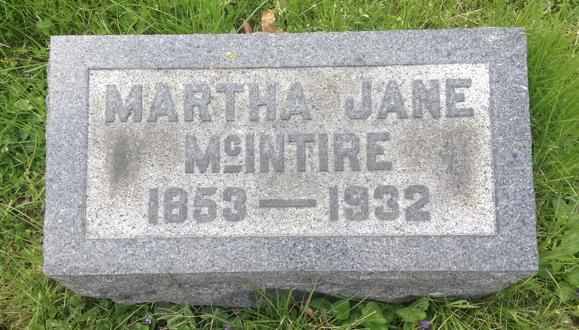 Martha Jane <i>Harbison</i> McIntire