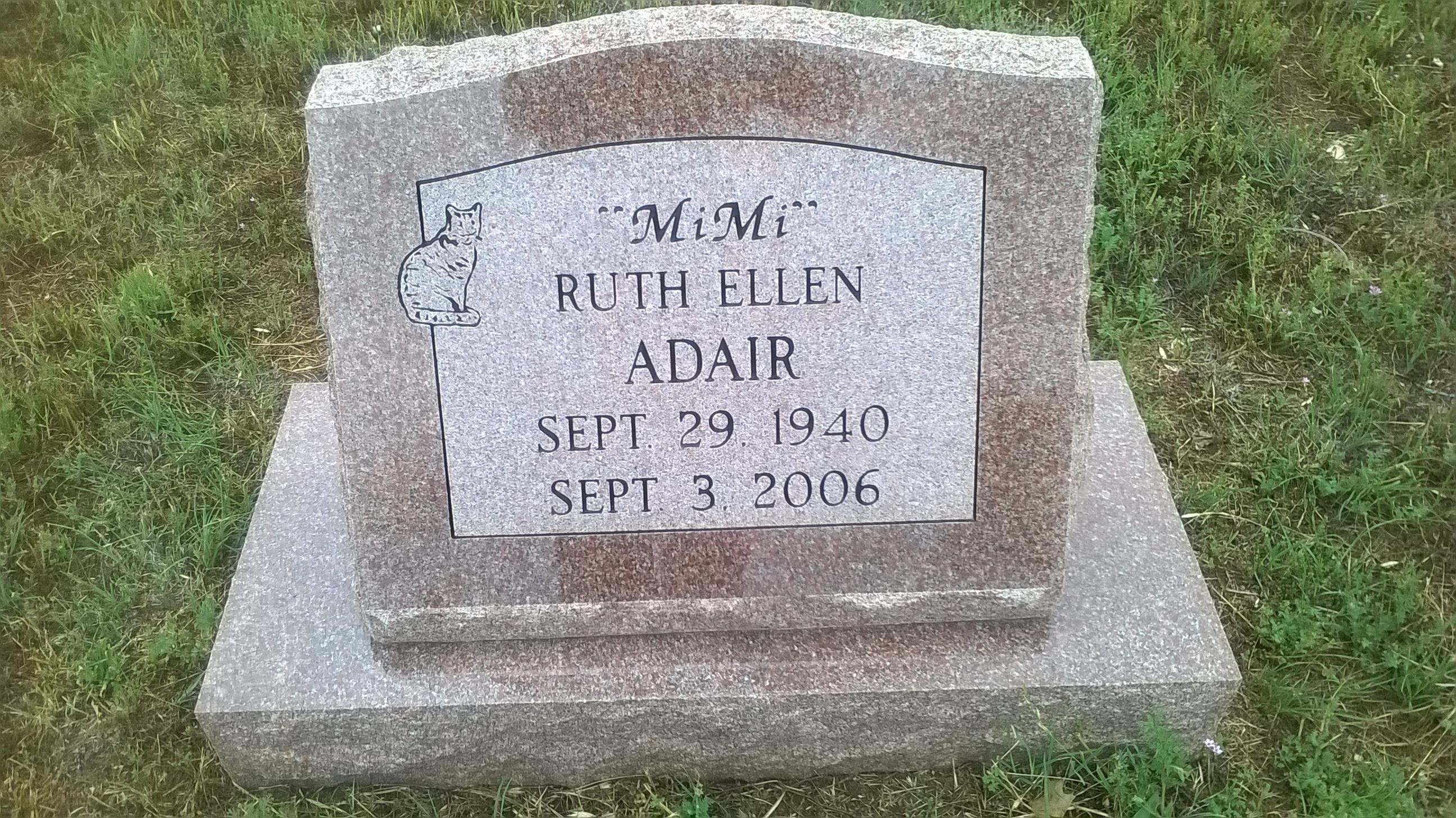 Ruth Ellen <i>Needham</i> Adair