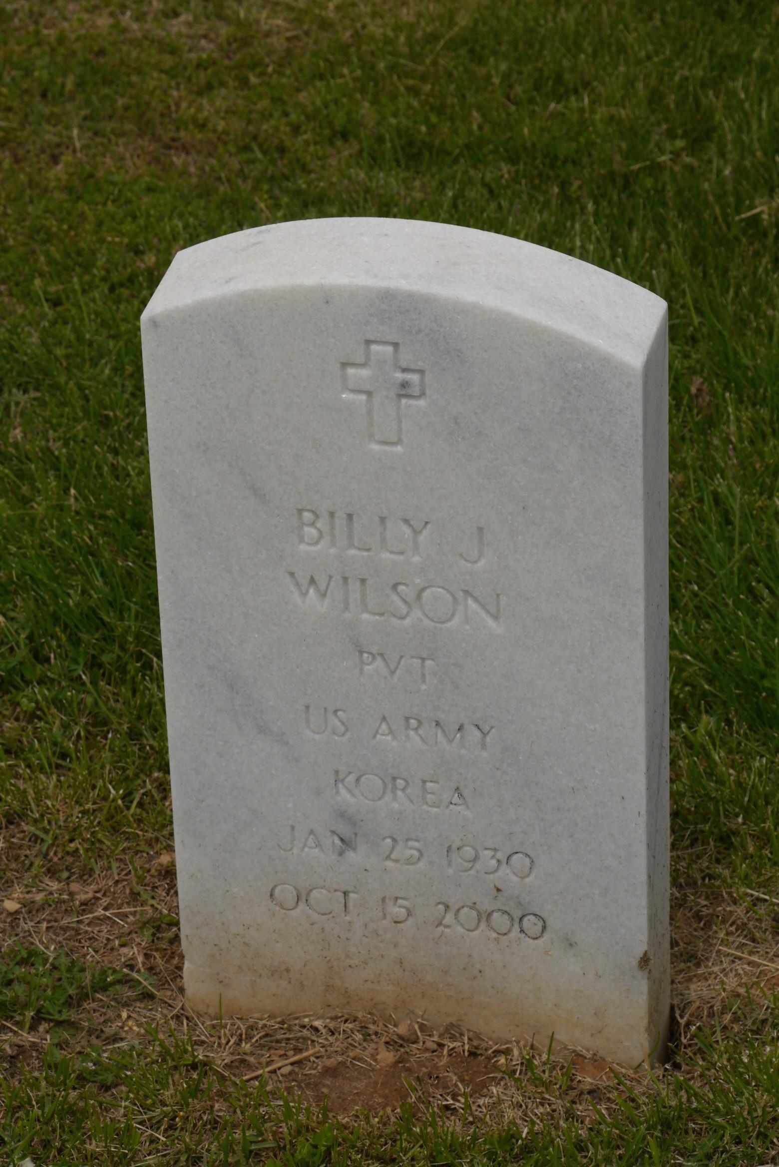 Billy J Wilson