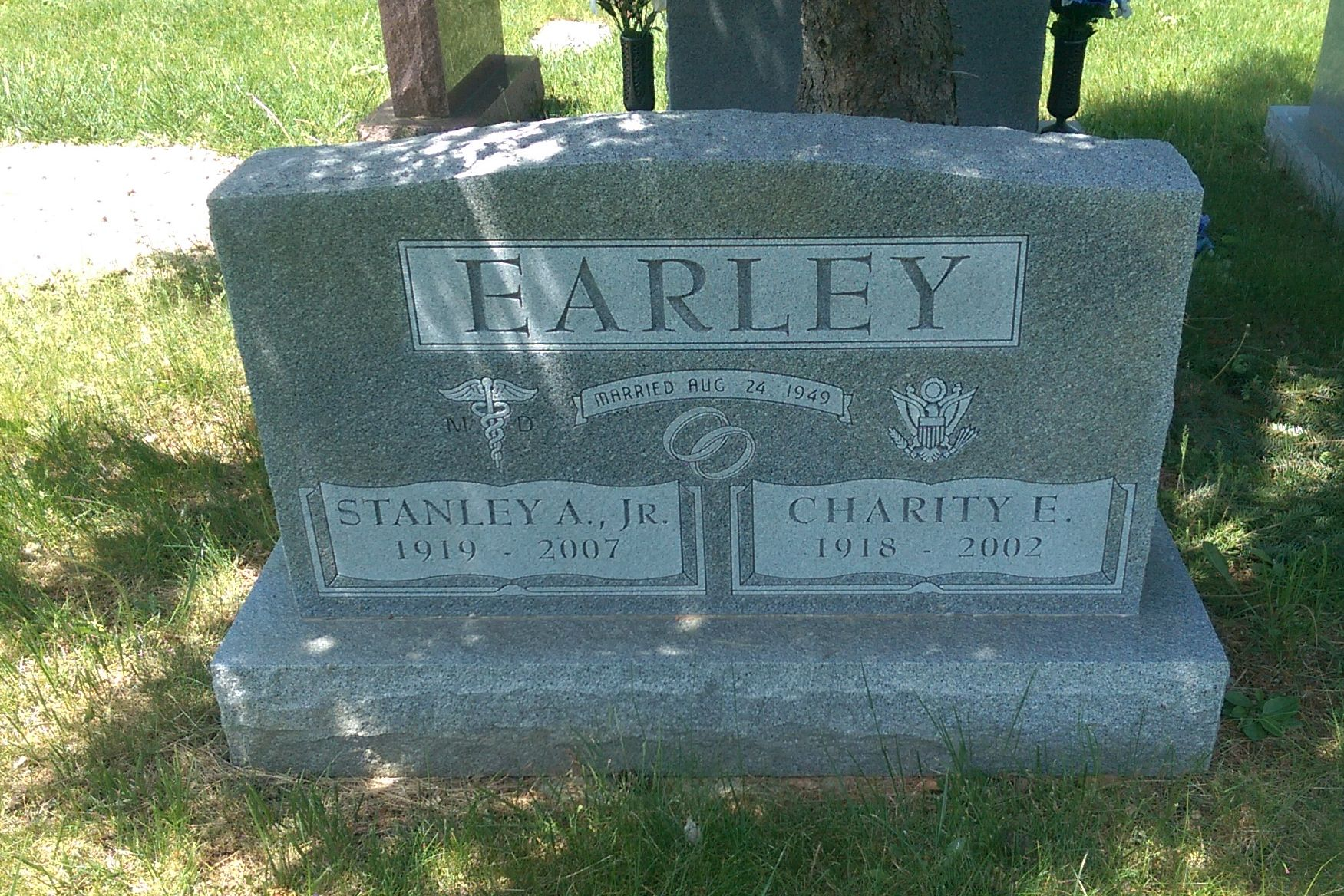 LTC Charity Edna <i>Adams</i> Earley