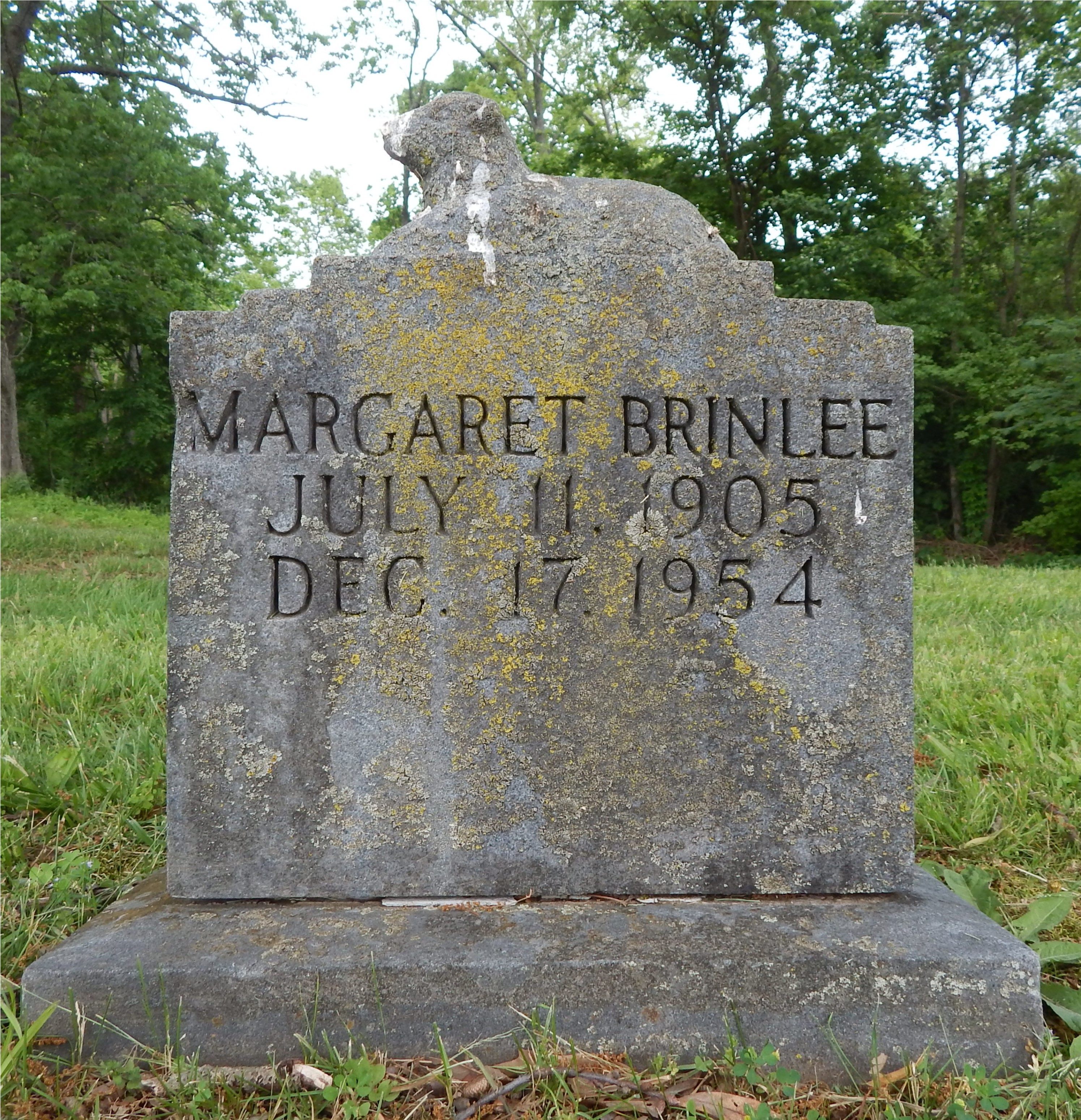 Mary Margaret <i>Carter</i> Brinlee