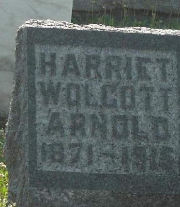 Harriet May <i>Wolcott</i> Arnold