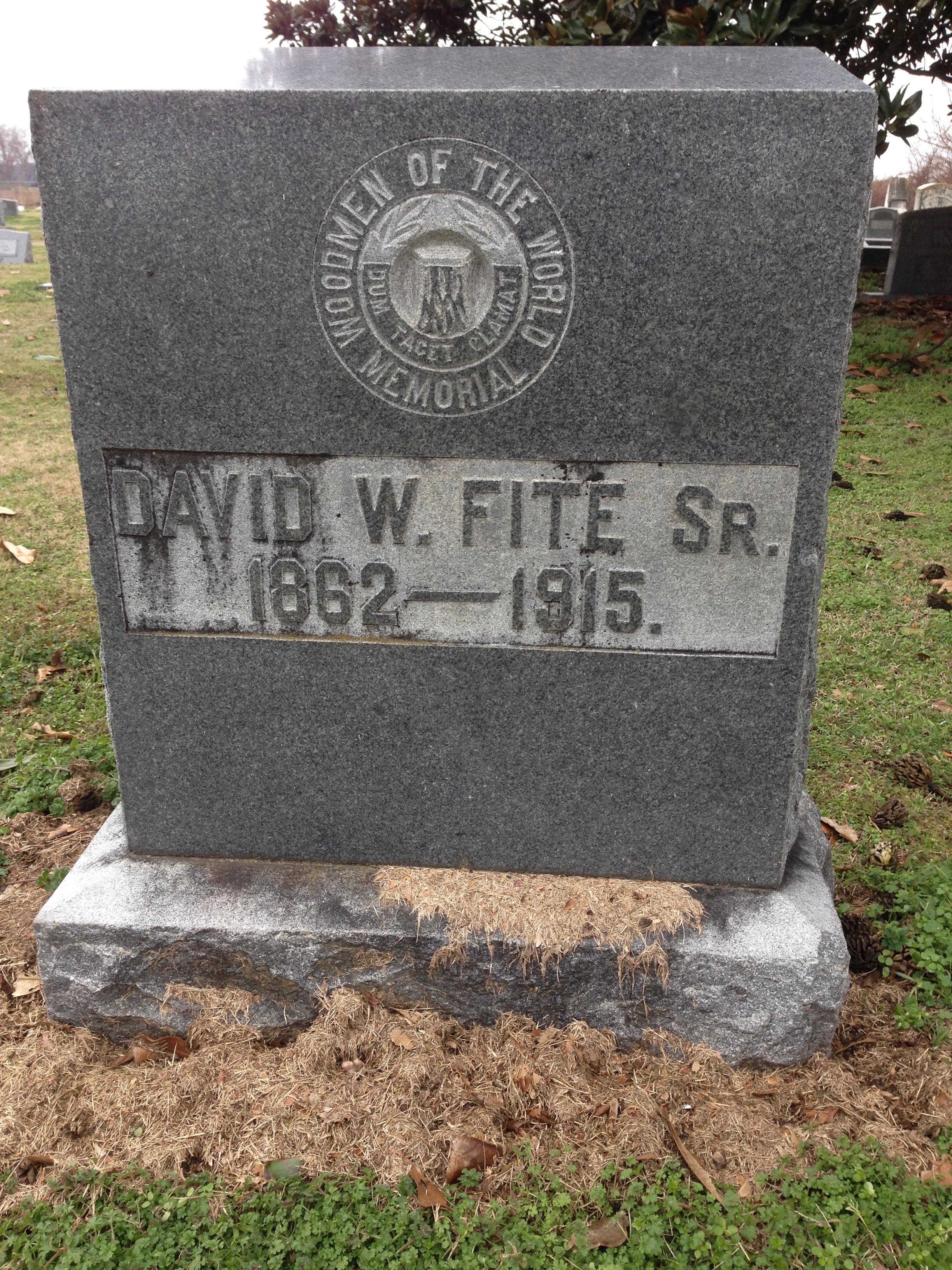 David Wallace Fite, Sr