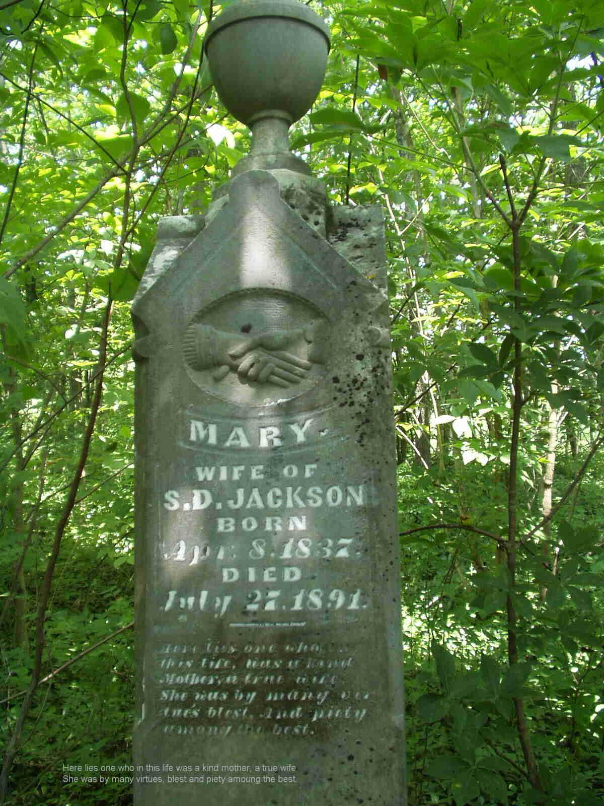 Mary <i>Trueax</i> Jackson