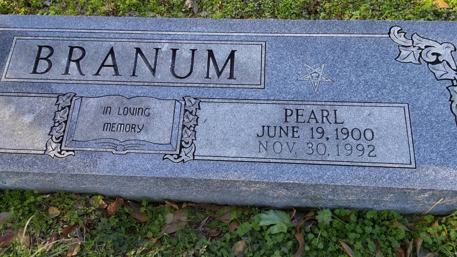 Pearlie May <i>Conner</i> Branum