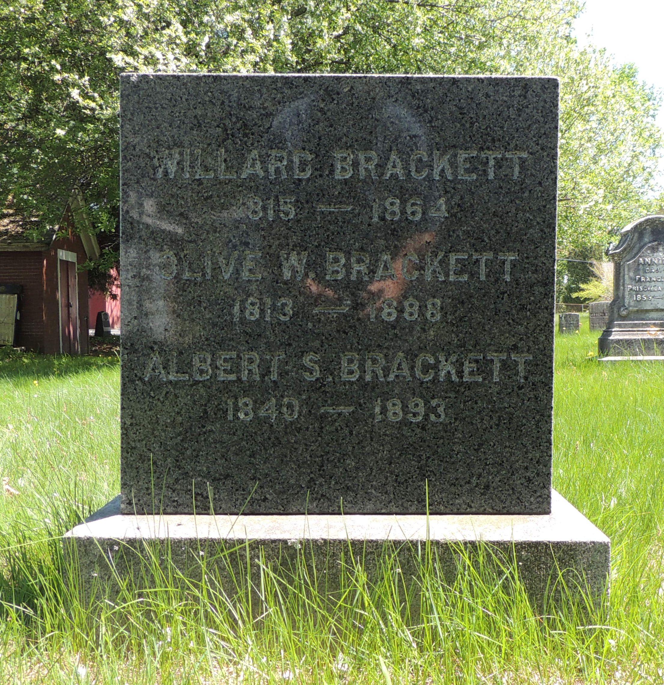Albert S Brackett