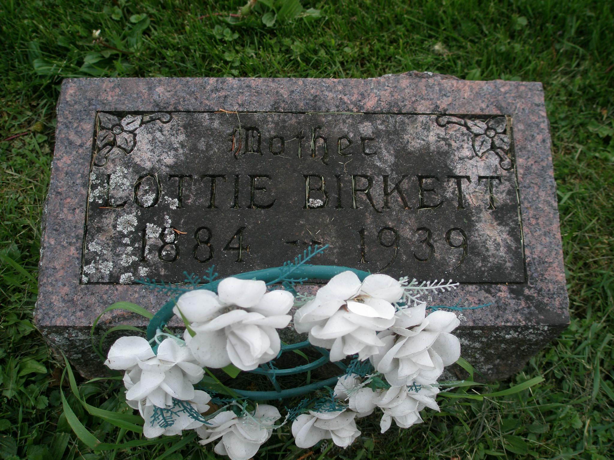 Lottie A <i>James</i> Birkett