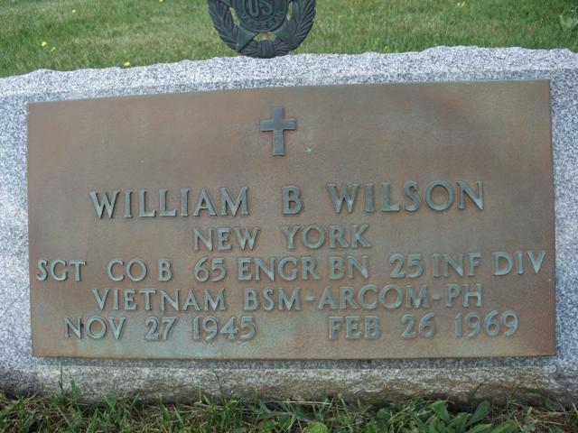 Sgt William Bernard Wilson