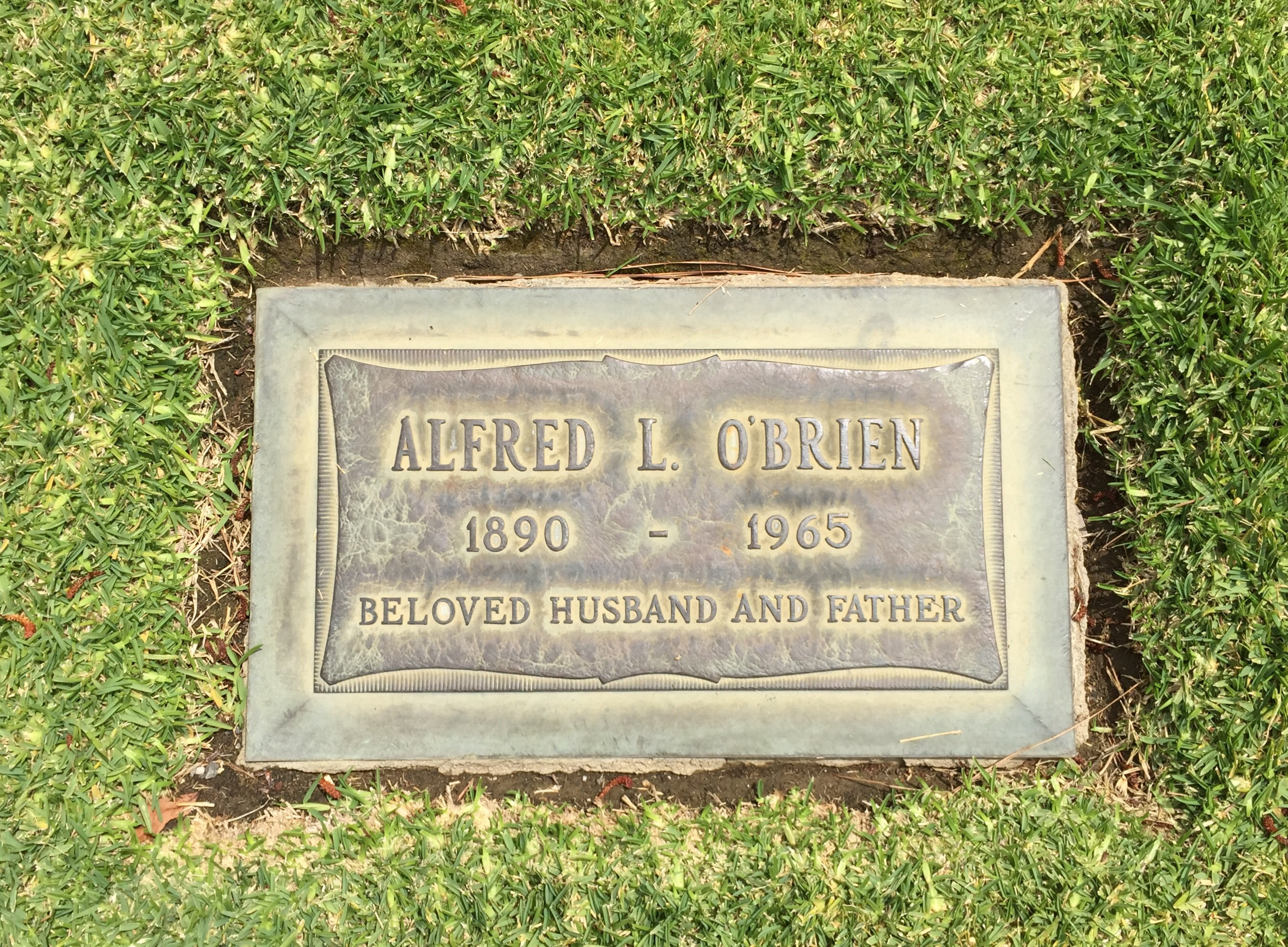 Alfred Laurence O'Brien