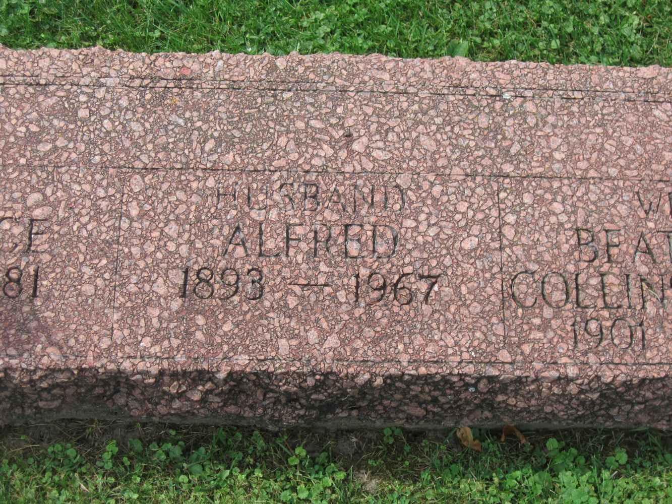 Alfred E Dafoe