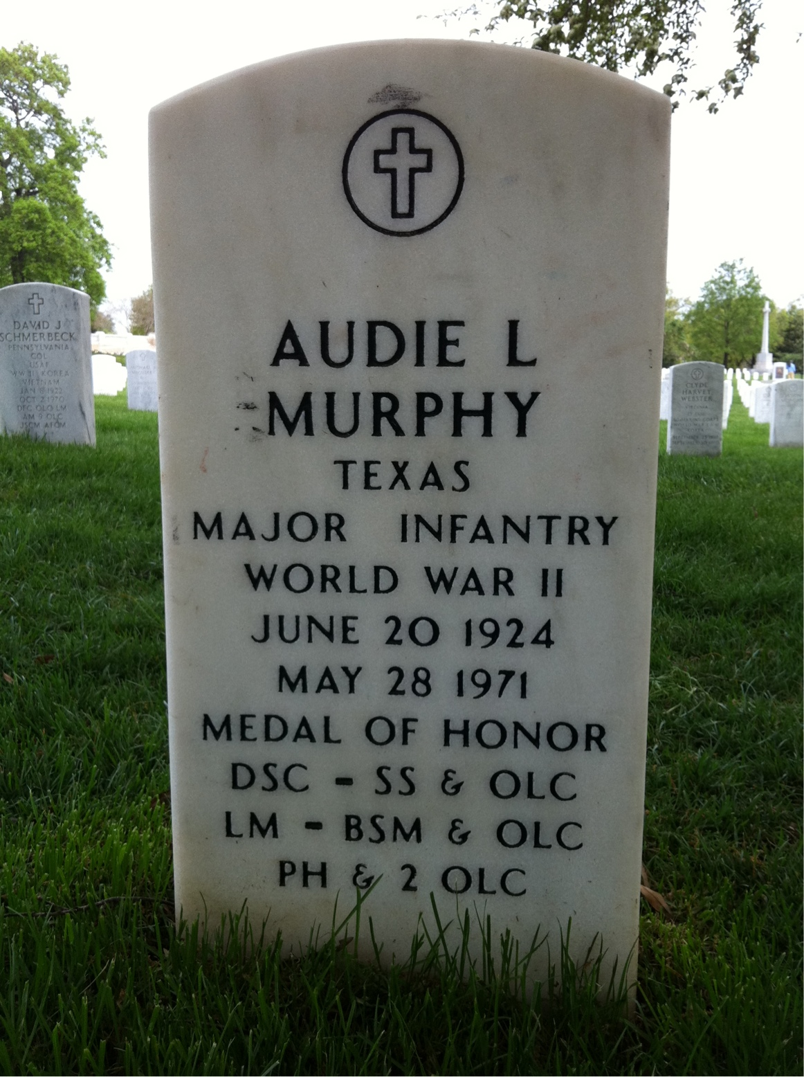 Audie Murphy 1924 1971 Find A Grave Memorial