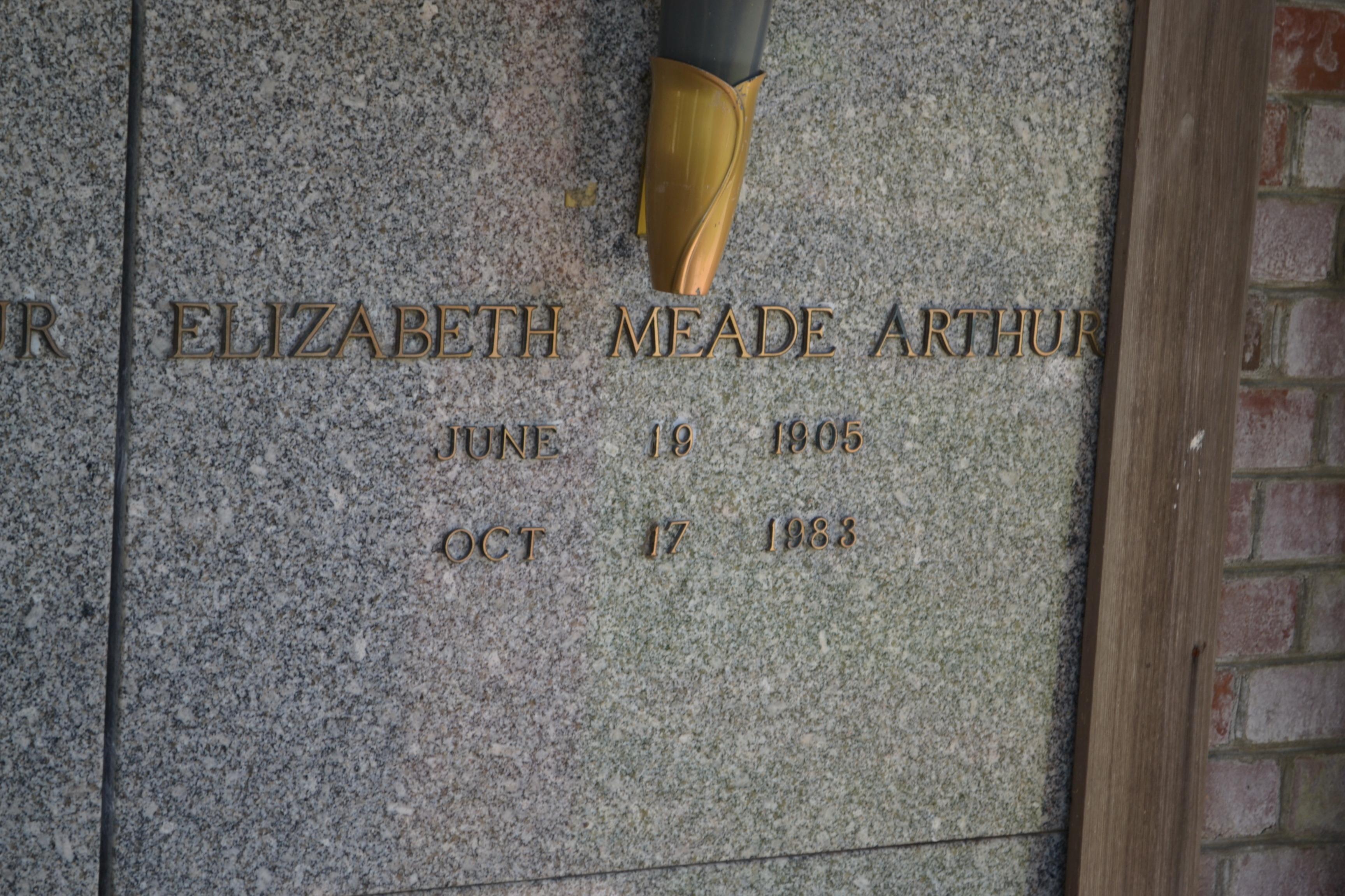 Elizabeth <i>Meade</i> Arthur