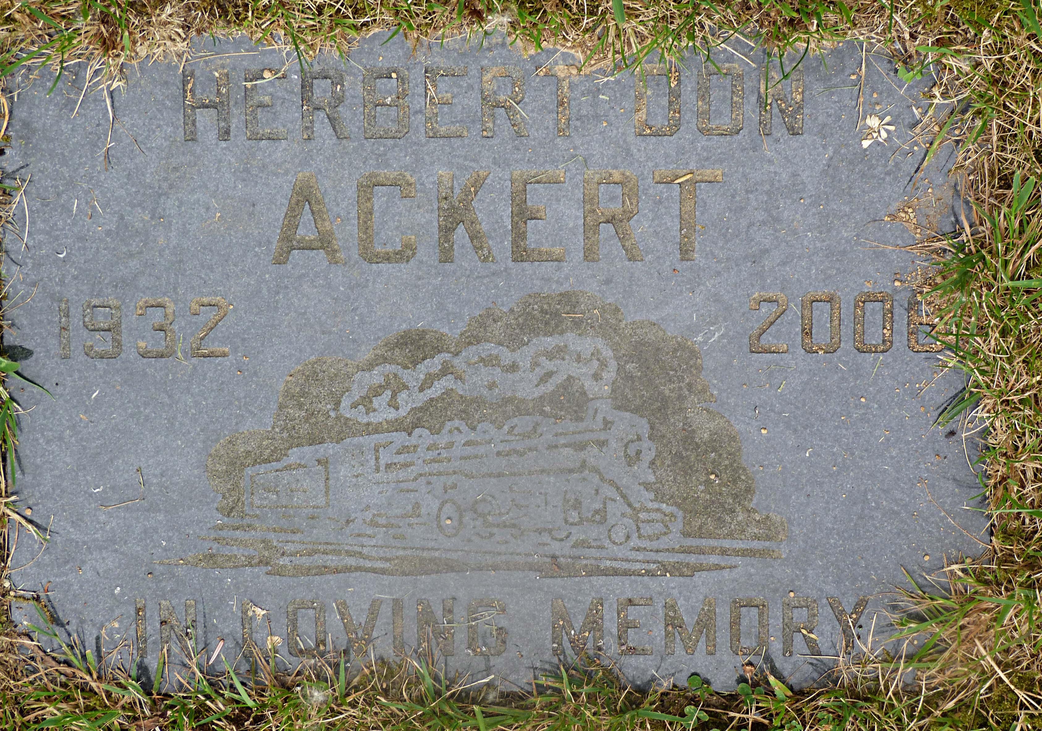 Herbert Don Ackert