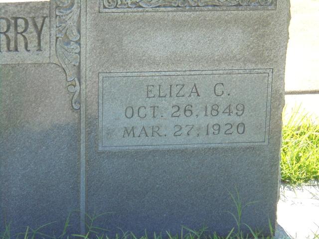 Eliza C. <i>Montigue</i> Castleberry
