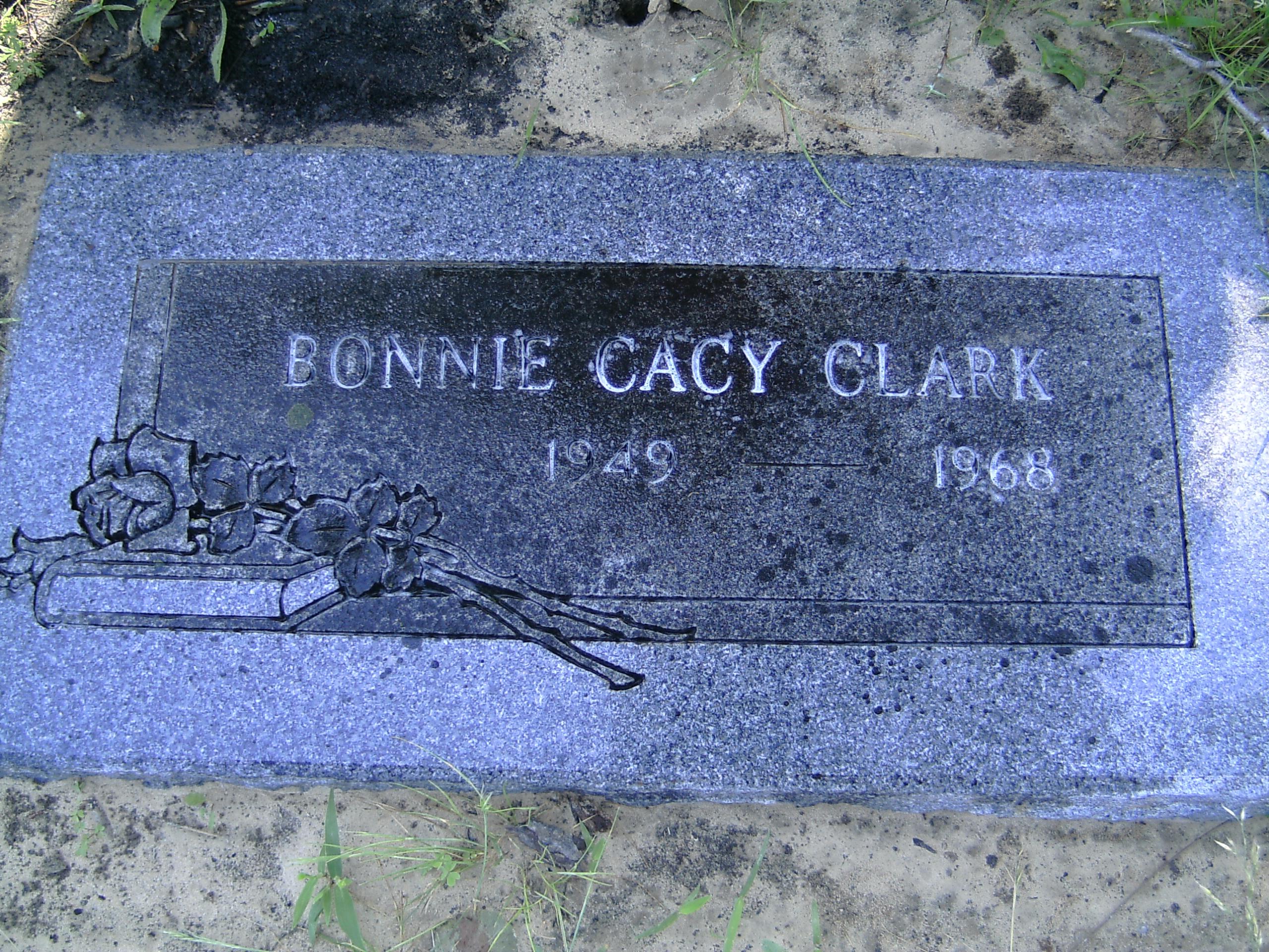 Bonita Bea Bonnie <i>Cacy</i> Clark